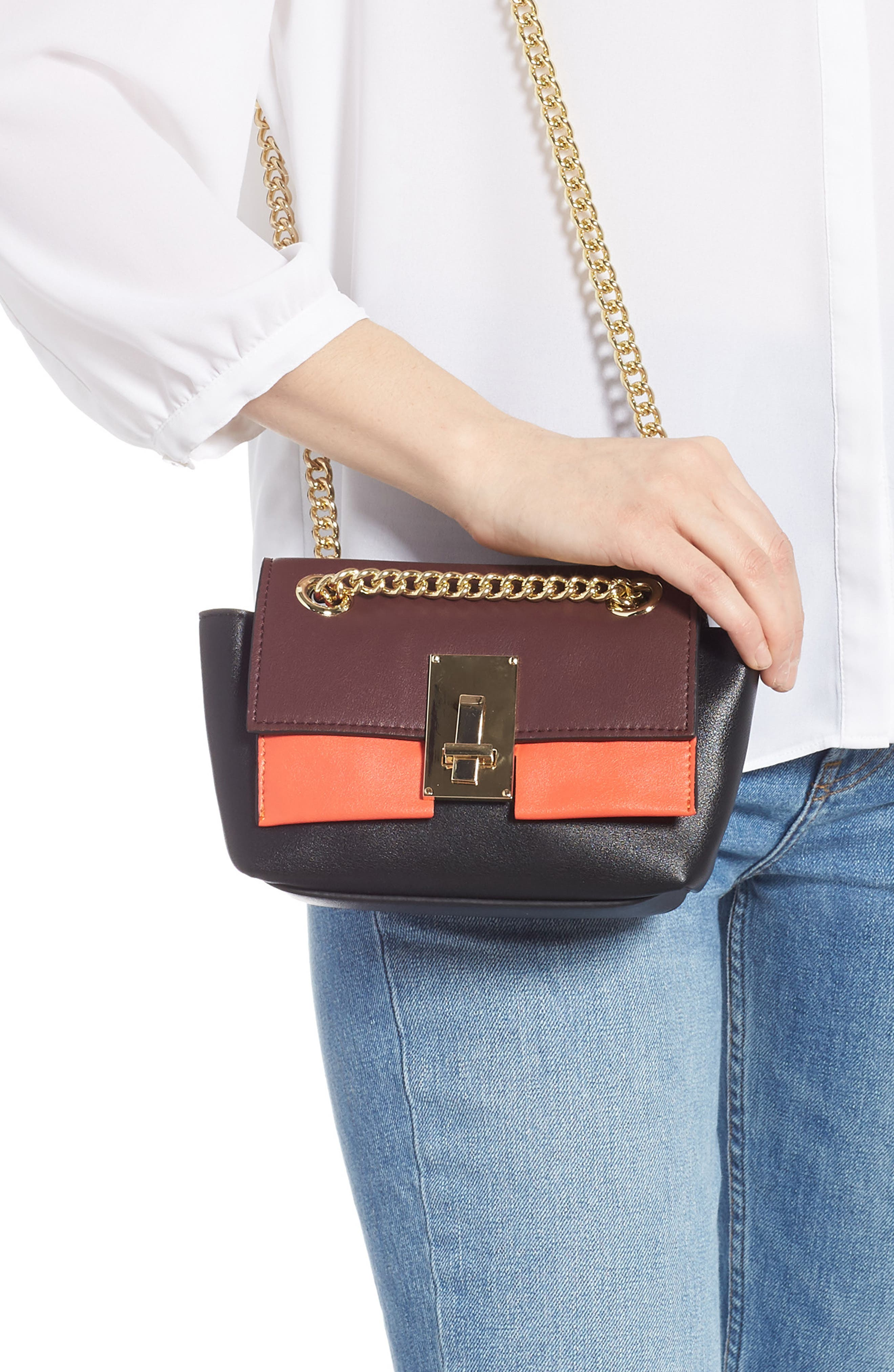 SR Squared by Sondra Roberts Colorblock Handbag,                             Alternate thumbnail 2, color,                             MULTI COMBO