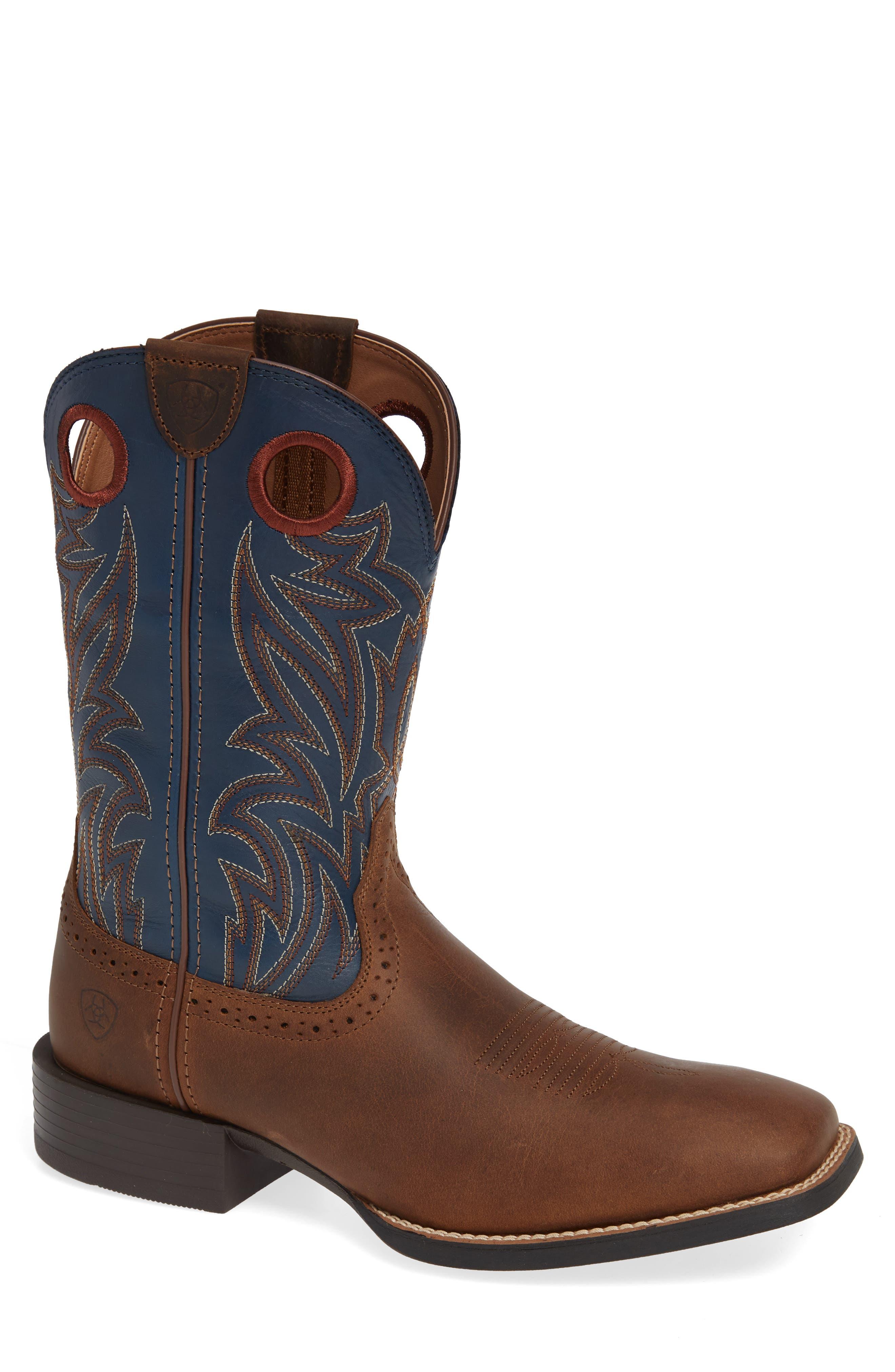 Sport Sidebet Cowboy Boot,                             Main thumbnail 1, color,                             400