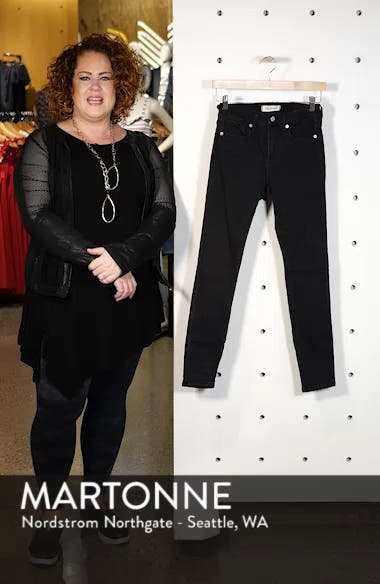 9-Inch High Rise Skinny Jeans, sales video thumbnail