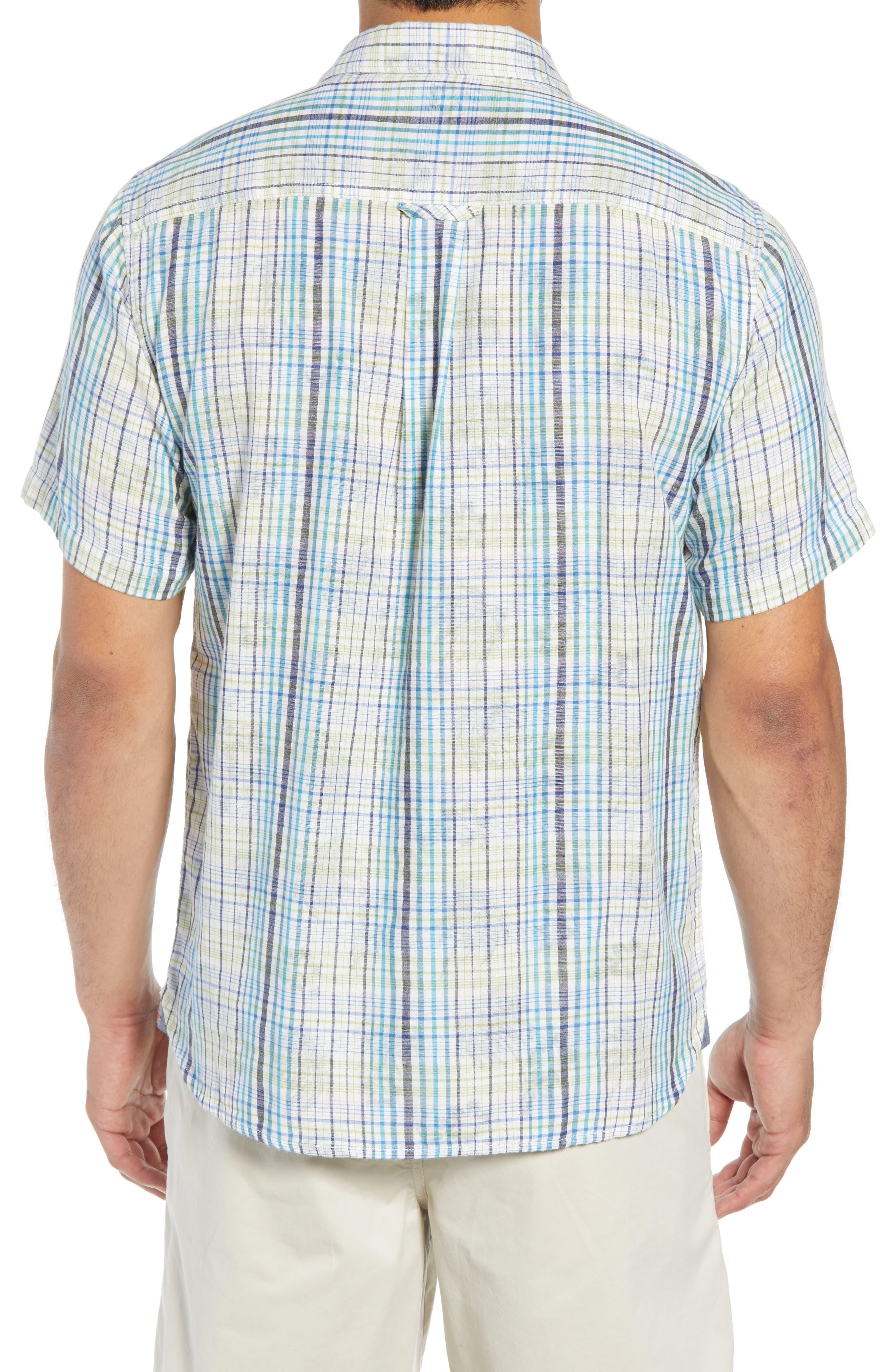 Hideaway Palms Camp Shirt,                             Alternate thumbnail 2, color,                             400