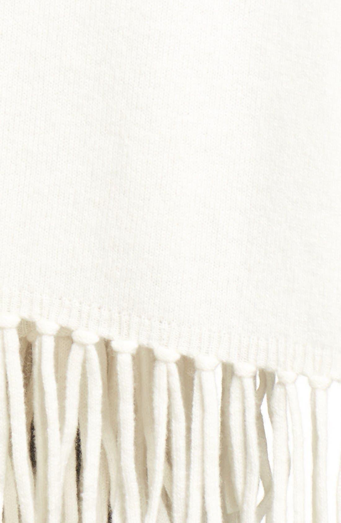 Collection Fringe Cashmere Wrap,                             Alternate thumbnail 12, color,