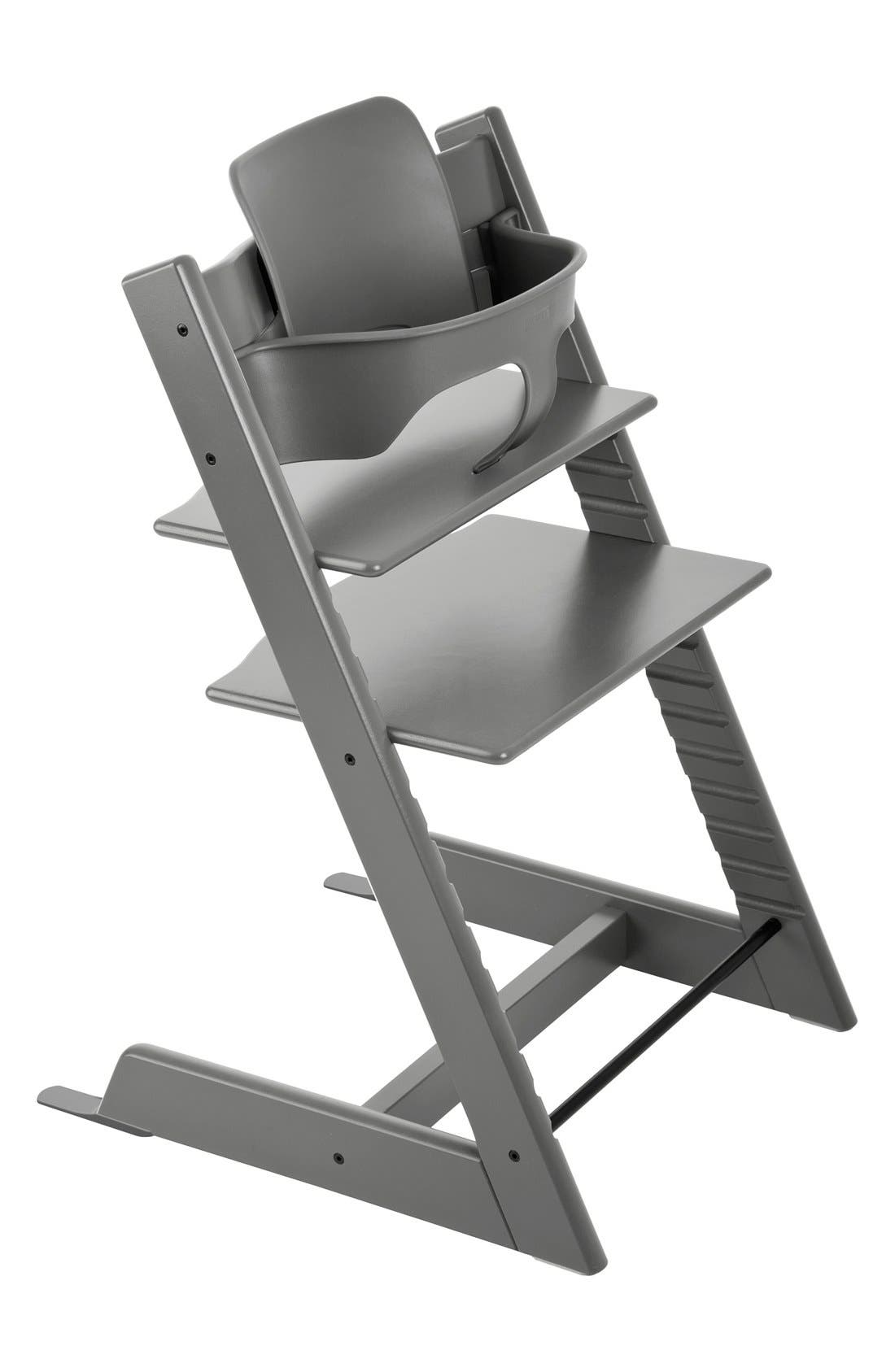 Tripp Trapp<sup>®</sup> Chair,                         Main,                         color, GREY