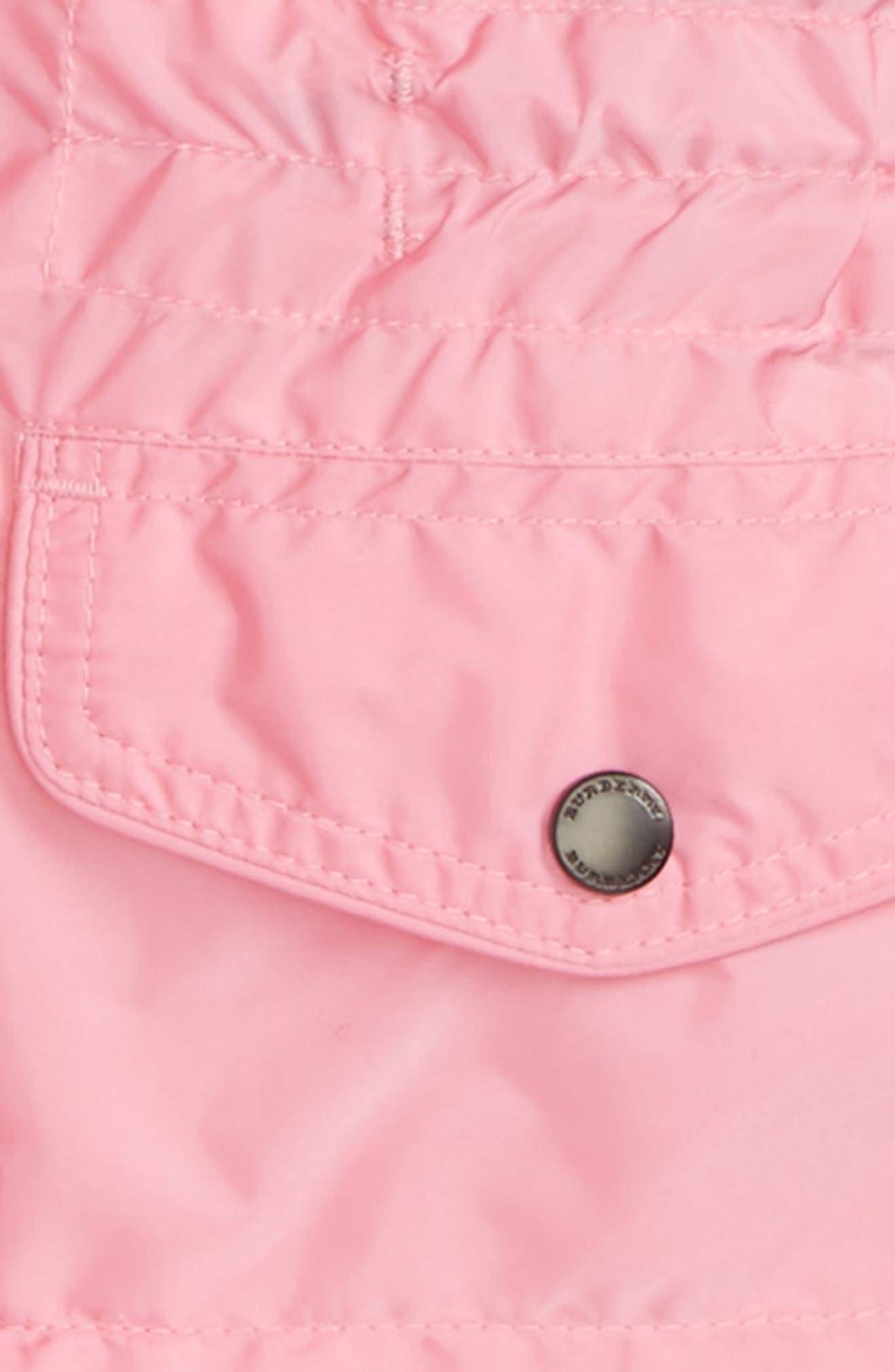 Mini Halle Hooded Packaway Rain Jacket,                             Alternate thumbnail 2, color,                             660
