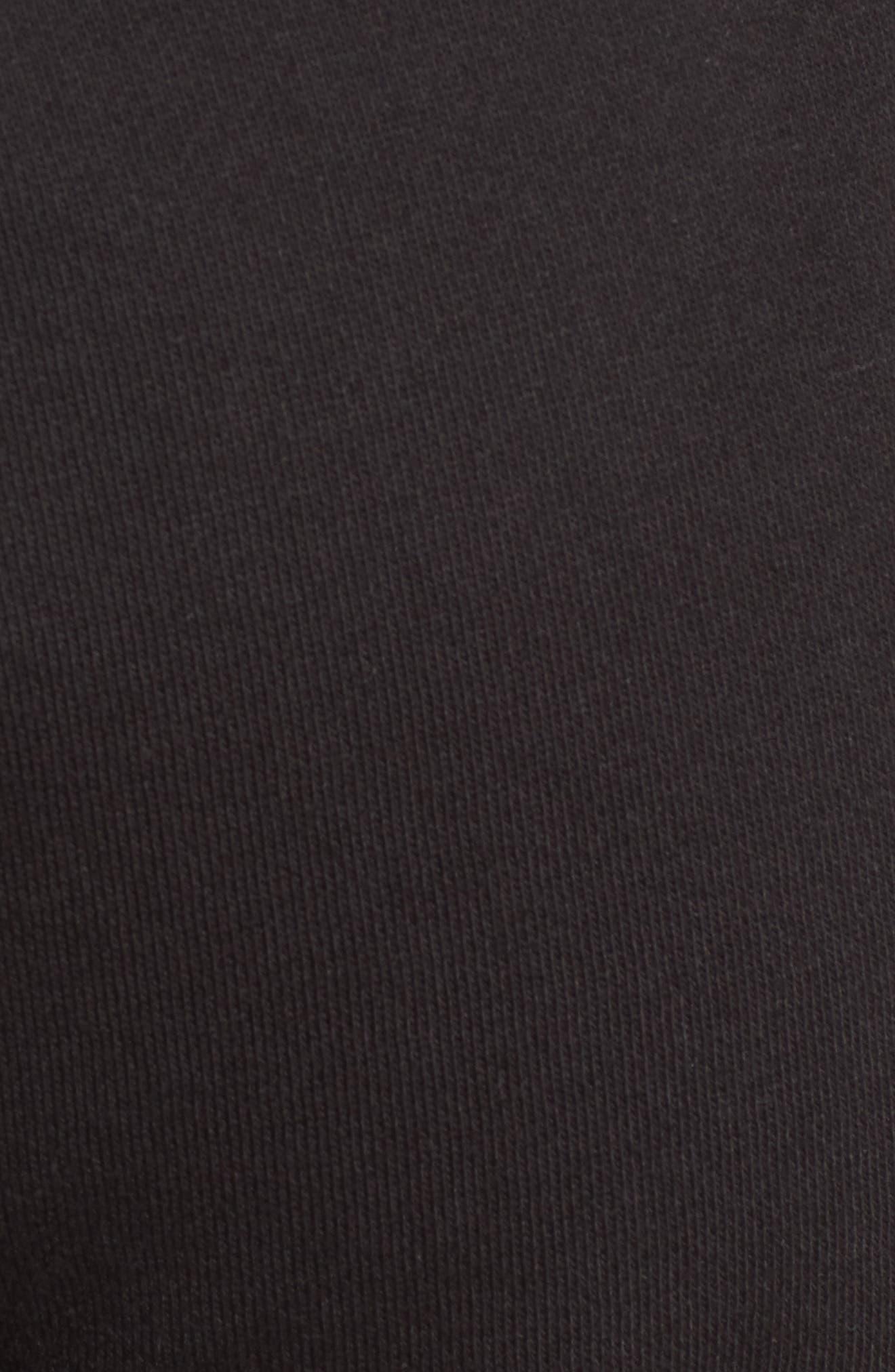 Glitter Logo Embellished Fleece Pants,                             Alternate thumbnail 6, color,                             009