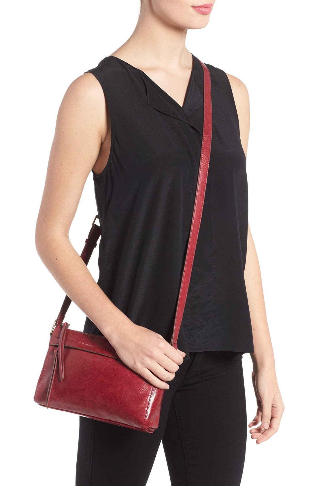 Tobey Leather Crossbody Bag,                             Alternate thumbnail 29, color,