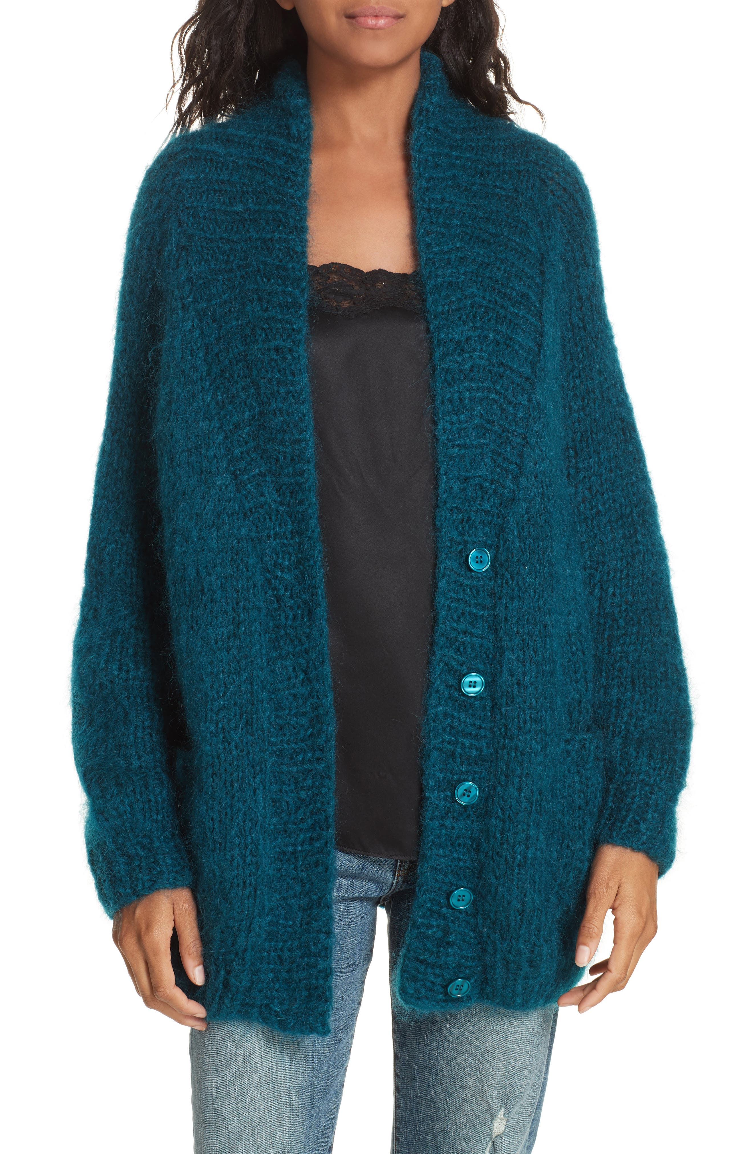 Knitted Cardigan,                         Main,                         color, 440