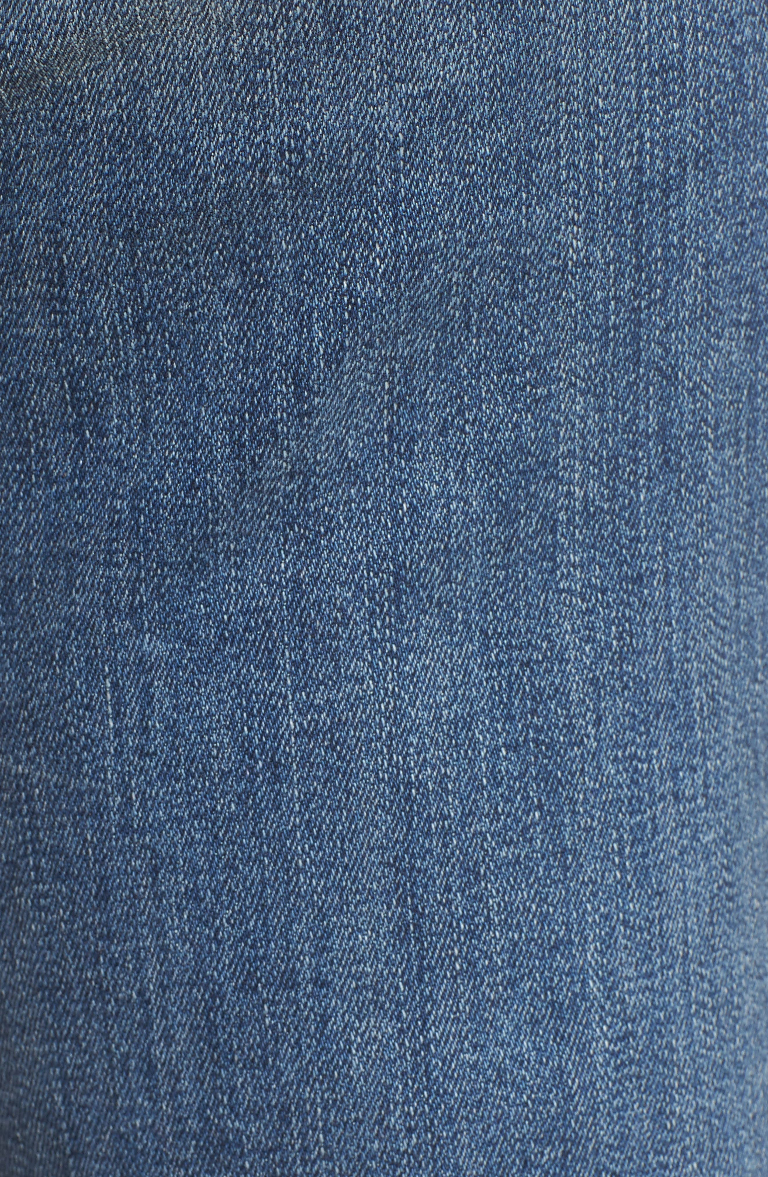 Tailorless Dojo Wide Leg Jeans,                             Alternate thumbnail 5, color,                             402