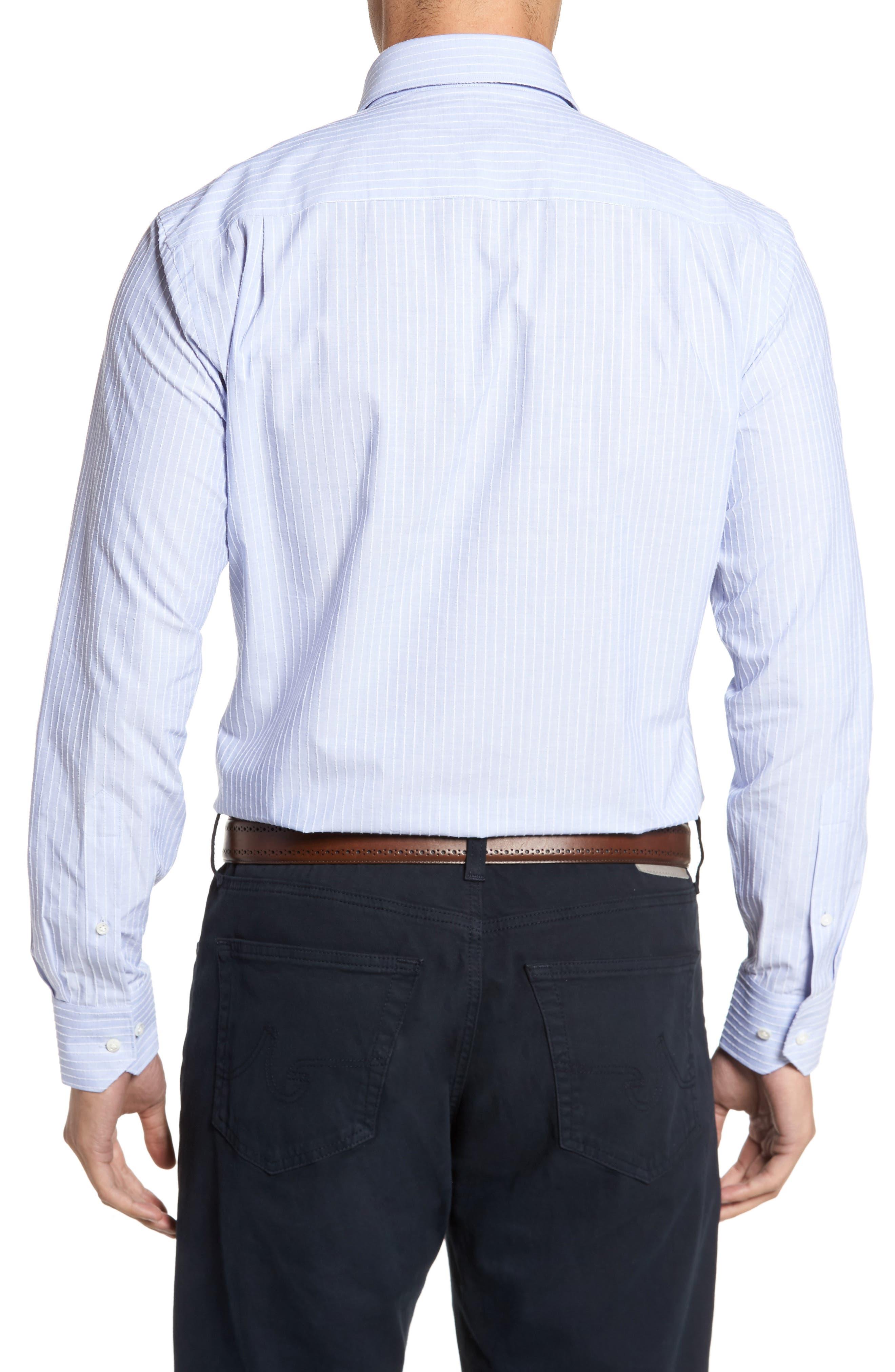 Cejar Stripe Sport Shirt,                             Alternate thumbnail 2, color,                             433