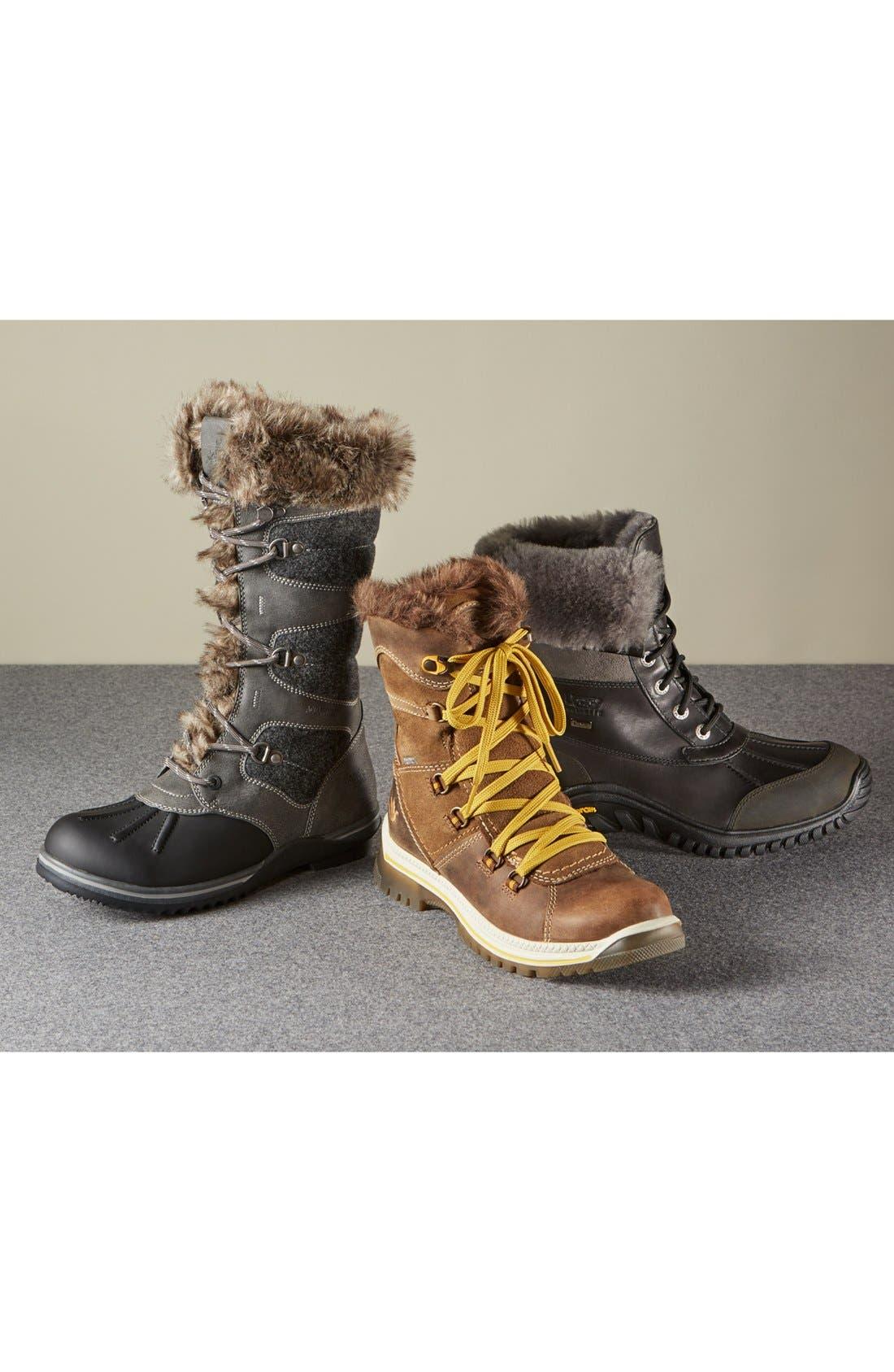 'Majesta' Faux Fur Boot,                             Alternate thumbnail 9, color,