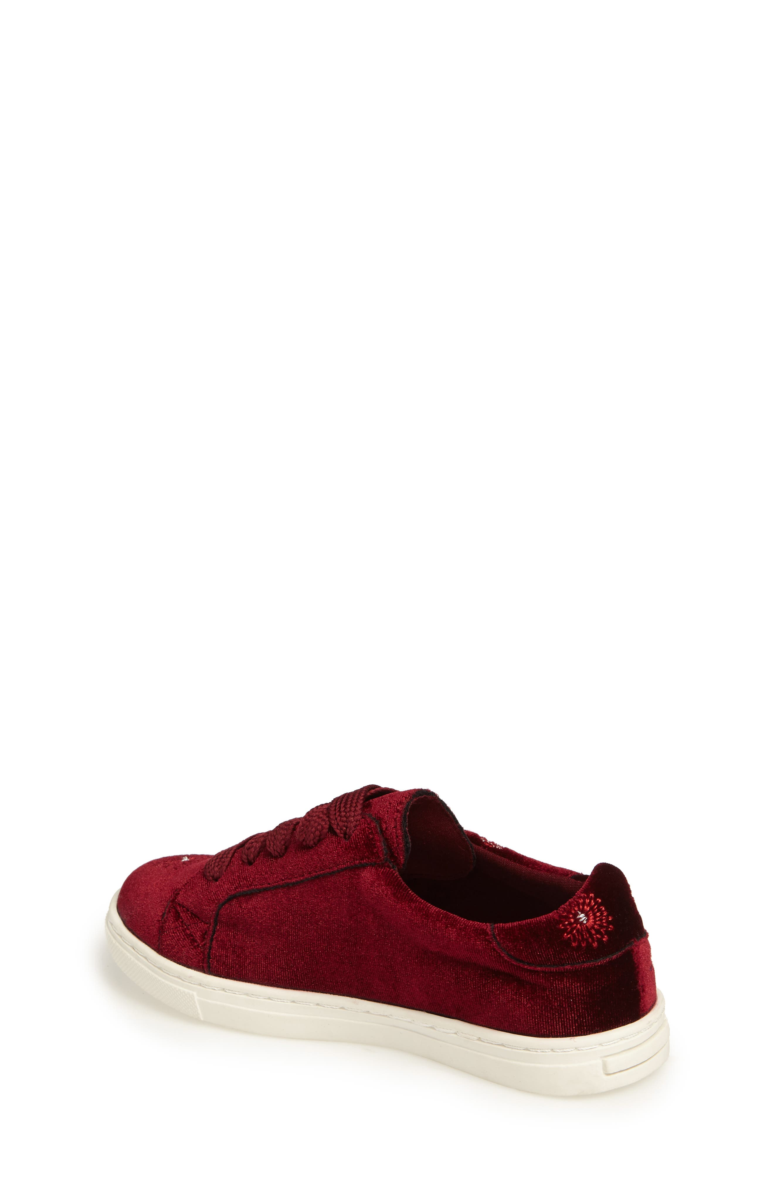 Zolly Floral Embroidered Sneaker,                             Alternate thumbnail 2, color,                             602