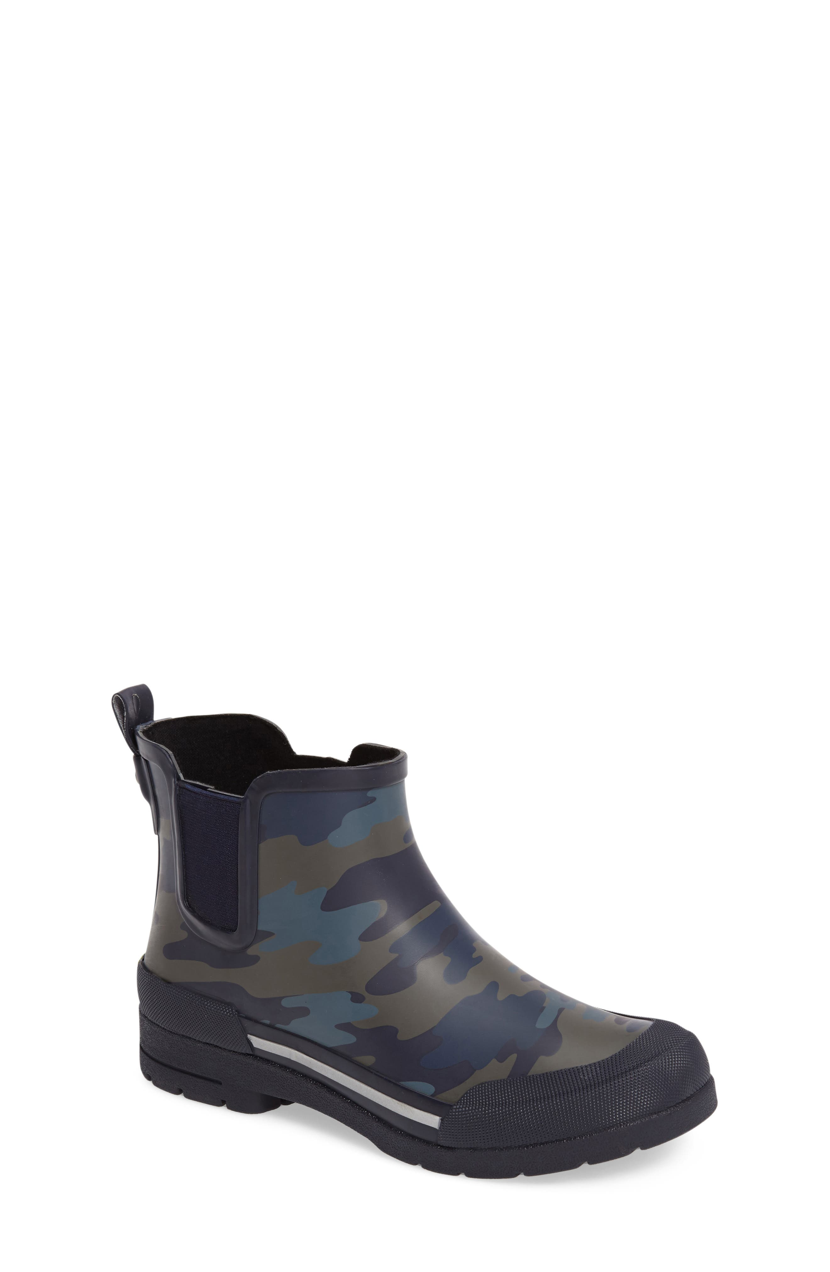 Classic EX Camo Chelsea Rain Boot,                             Main thumbnail 1, color,                             421