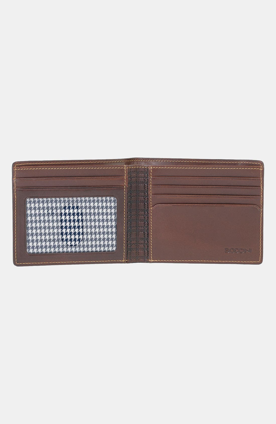 'Bryant' RFID Blocker Slimfold Wallet,                             Alternate thumbnail 5, color,                             ANTIQUE MAHOGANY