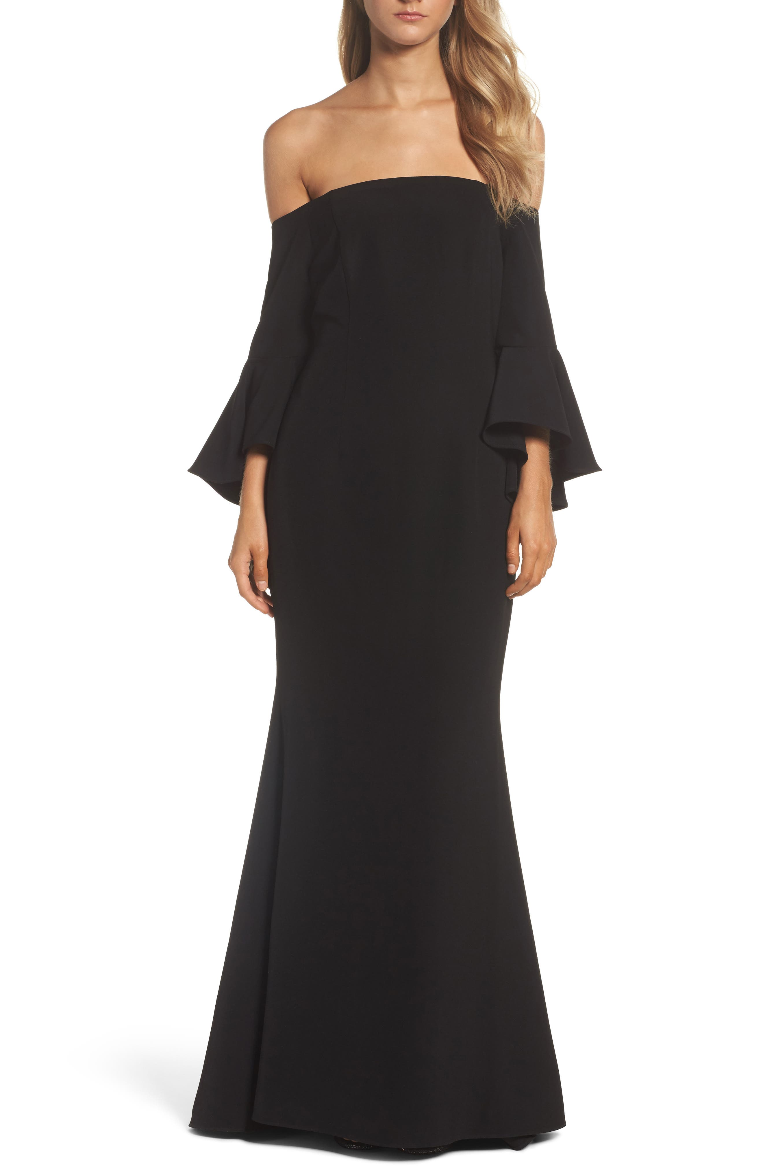 Off The Shoulder Gown,                             Main thumbnail 3, color,