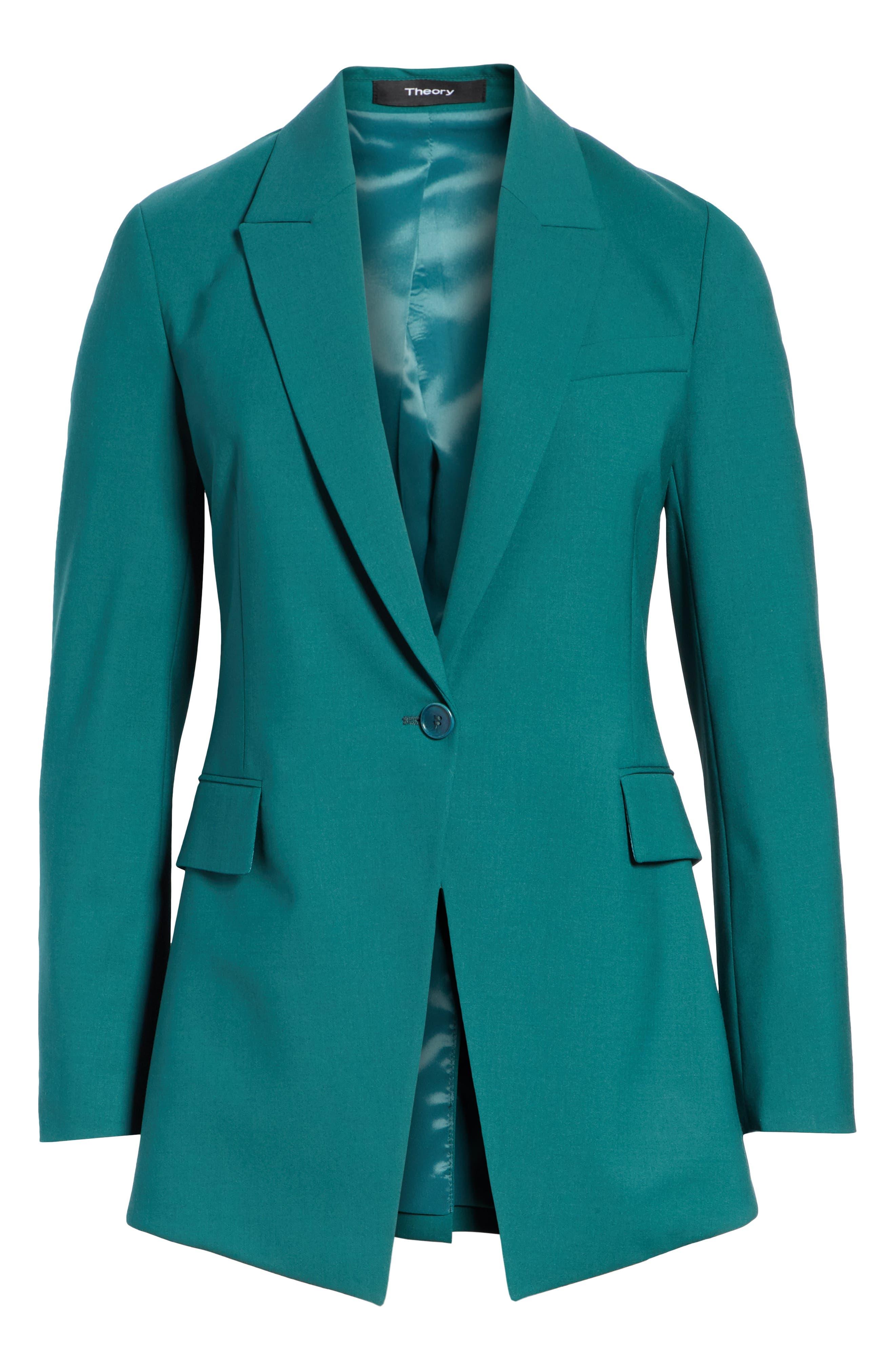 Etienette B Good Wool Suit Jacket,                             Alternate thumbnail 34, color,