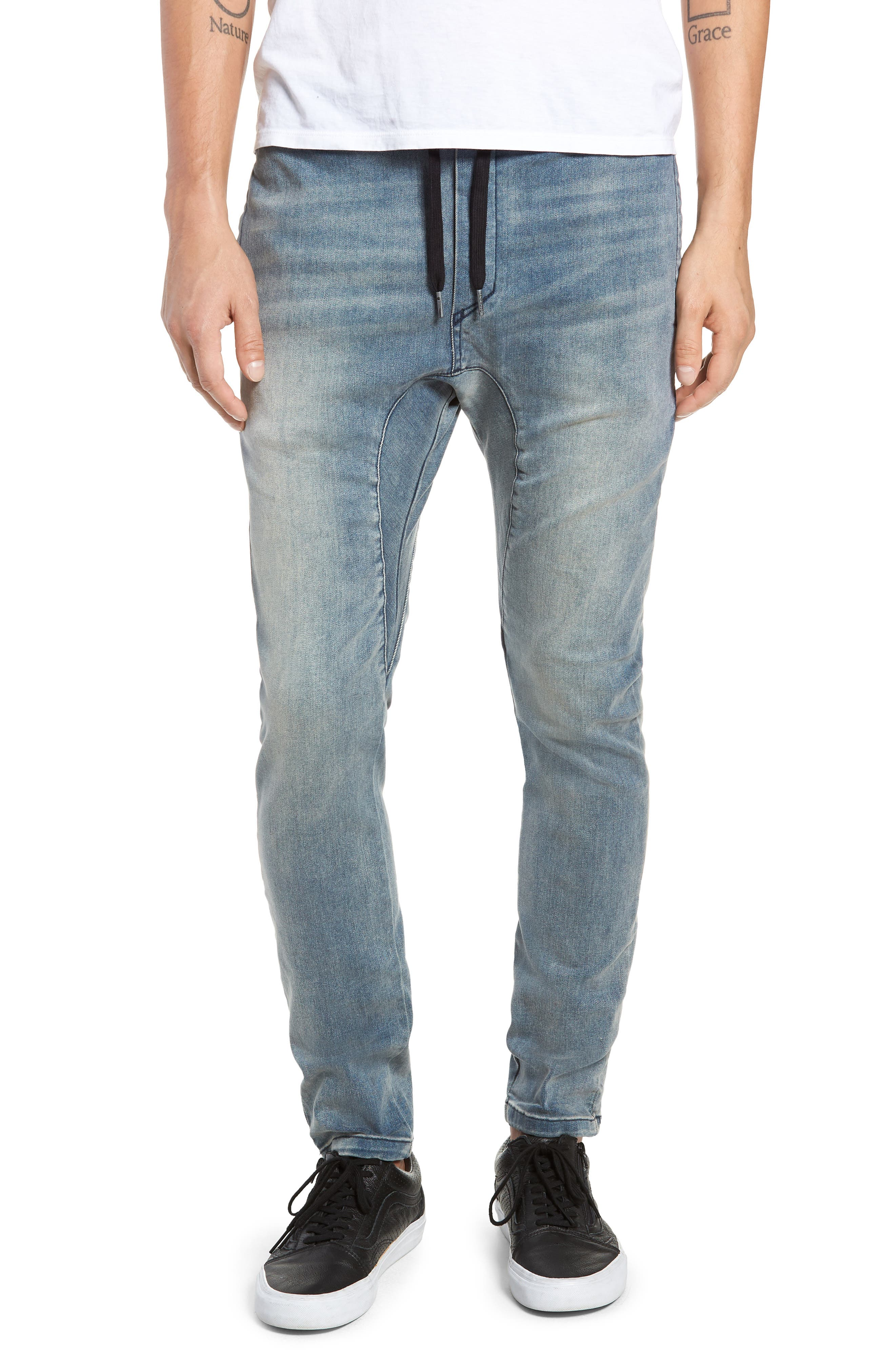 Salerno Flex Jeans,                             Main thumbnail 1, color,                             ABANDONED BLUE