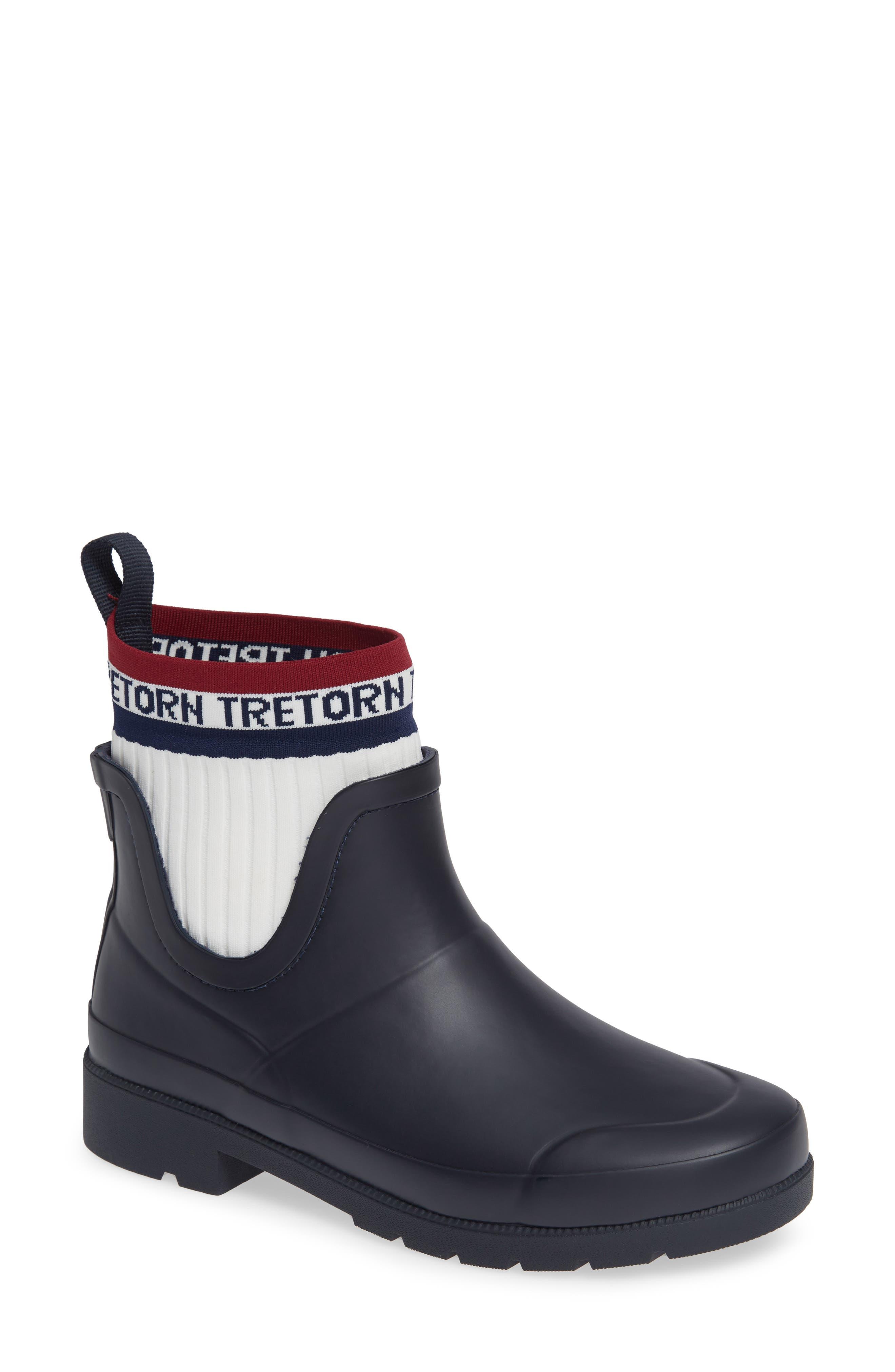 Lia Sock Rain Boot,                             Main thumbnail 1, color,                             400