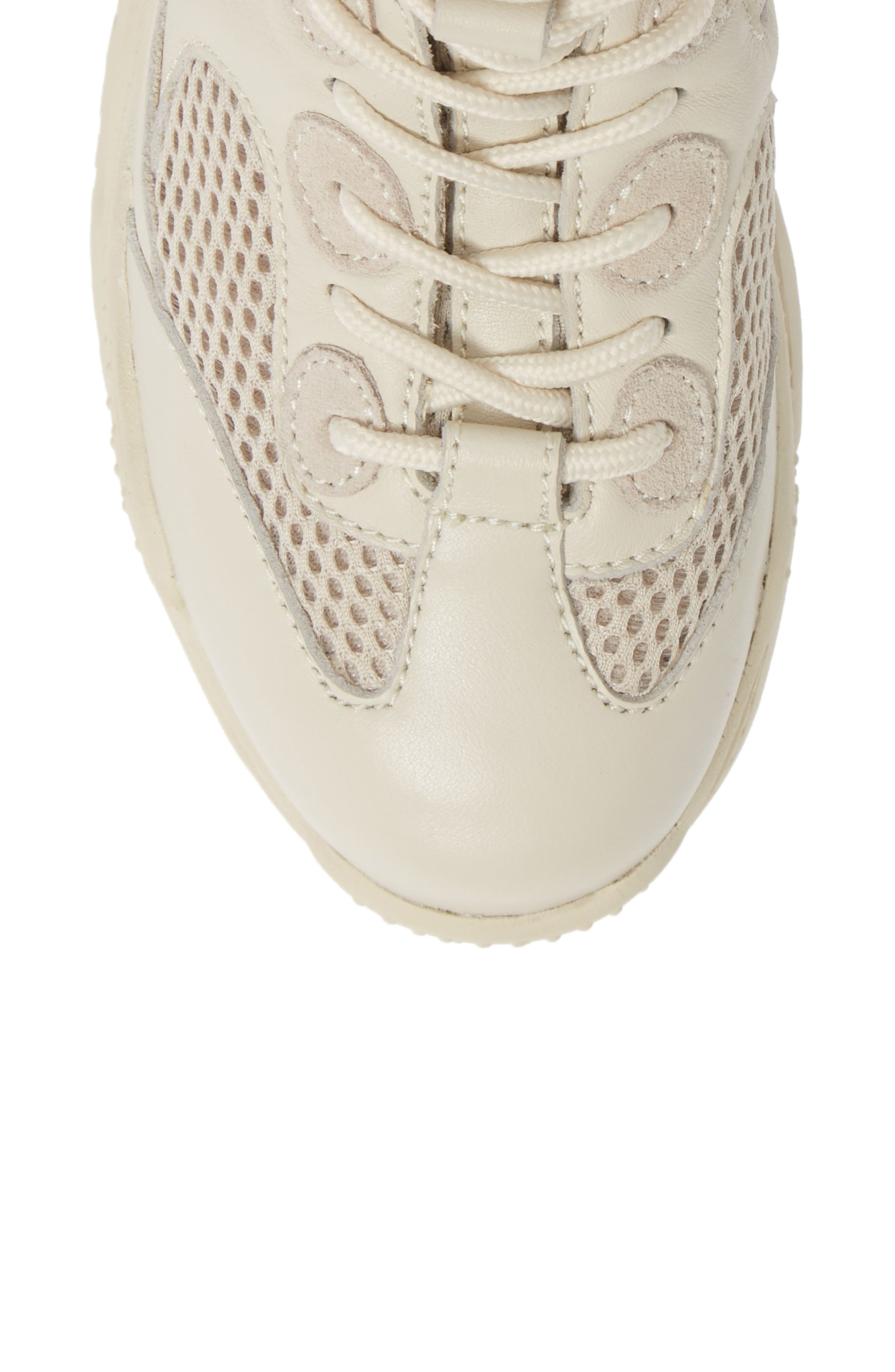 Pyro Wedge Sneaker Boot,                             Alternate thumbnail 5, color,                             OFF WHITE COMBO