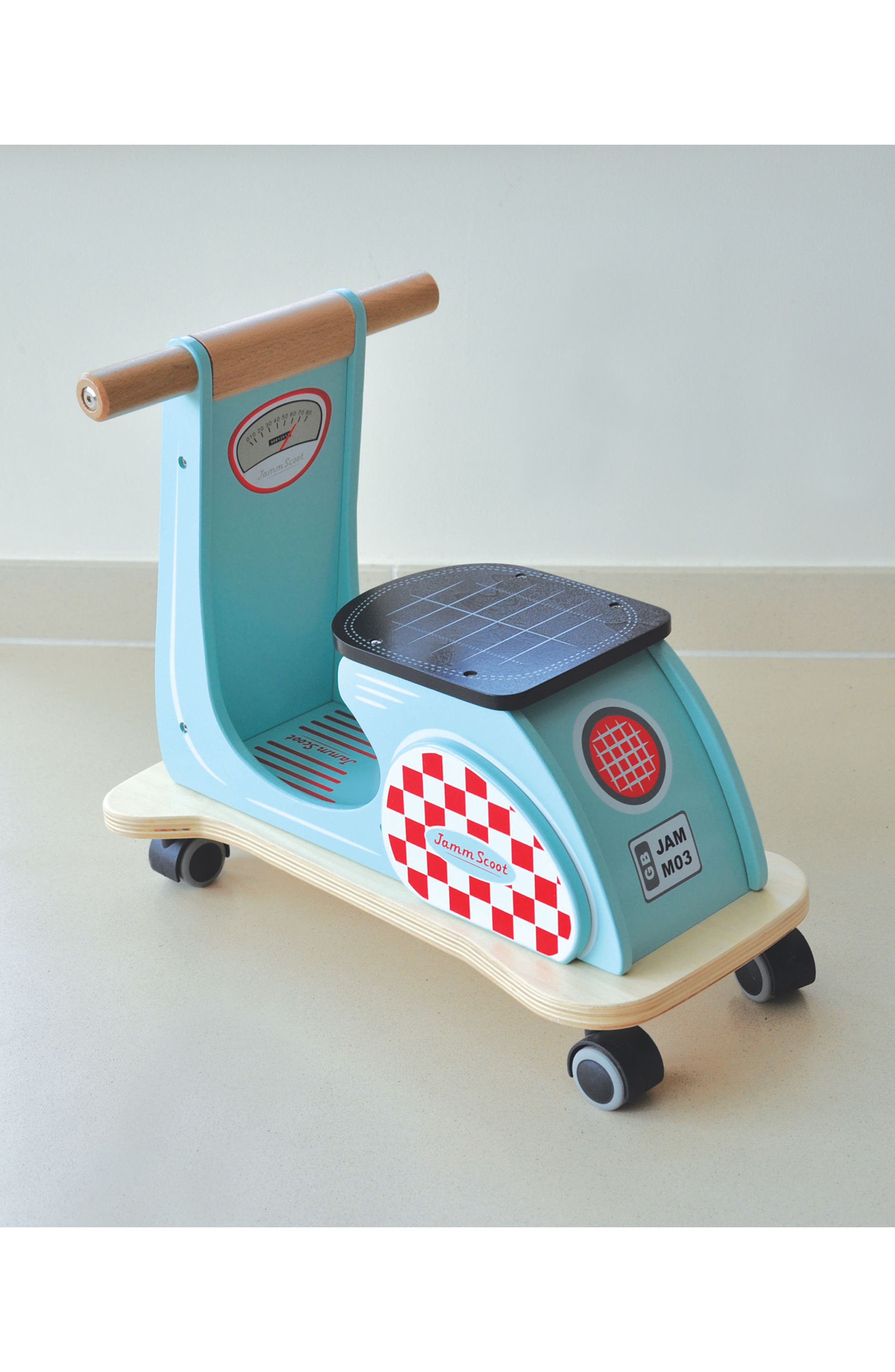 Wood Scooter,                             Alternate thumbnail 2, color,                             400