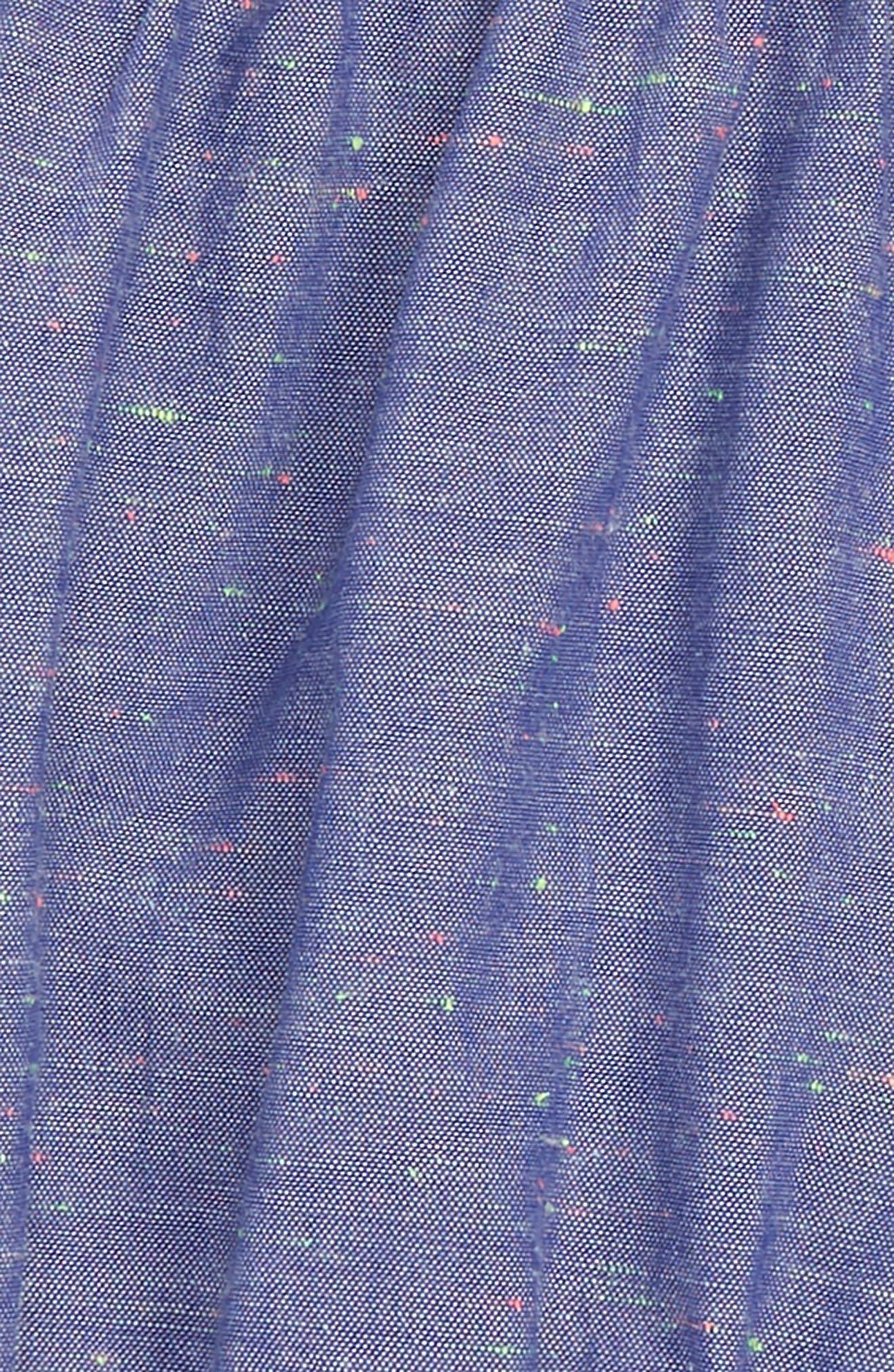 Chambray Bubble Shorts,                             Alternate thumbnail 2, color,                             411