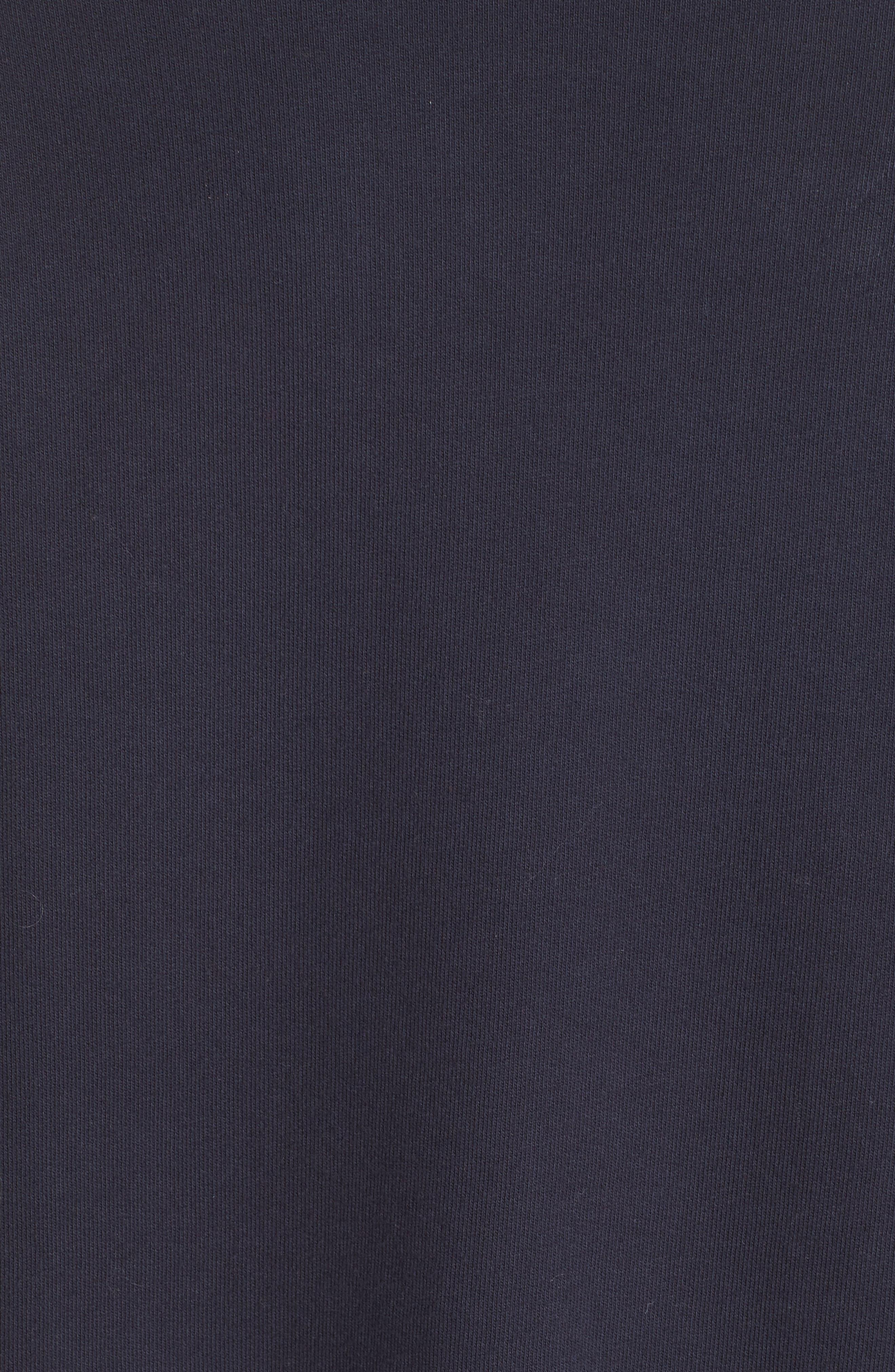 Bow Colorblock Sweatshirt,                             Alternate thumbnail 5, color,                             NAVY