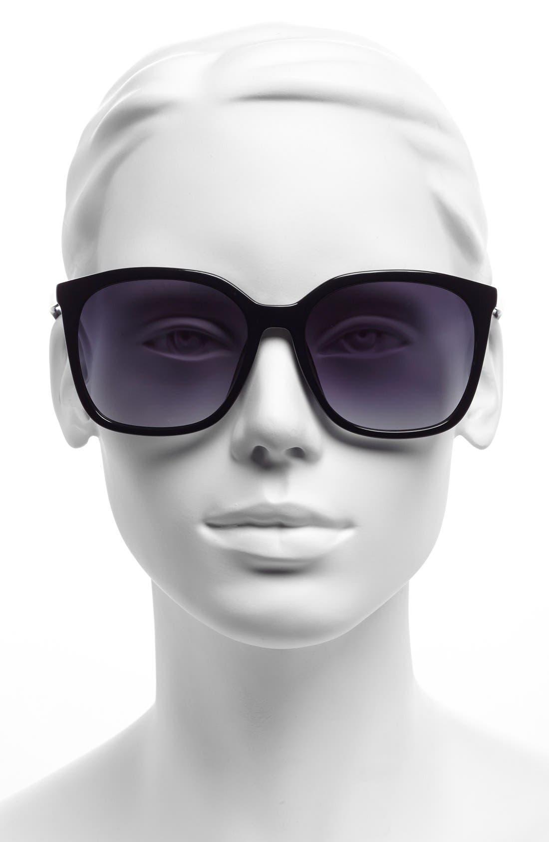 59mm Sunglasses,                             Alternate thumbnail 2, color,                             001