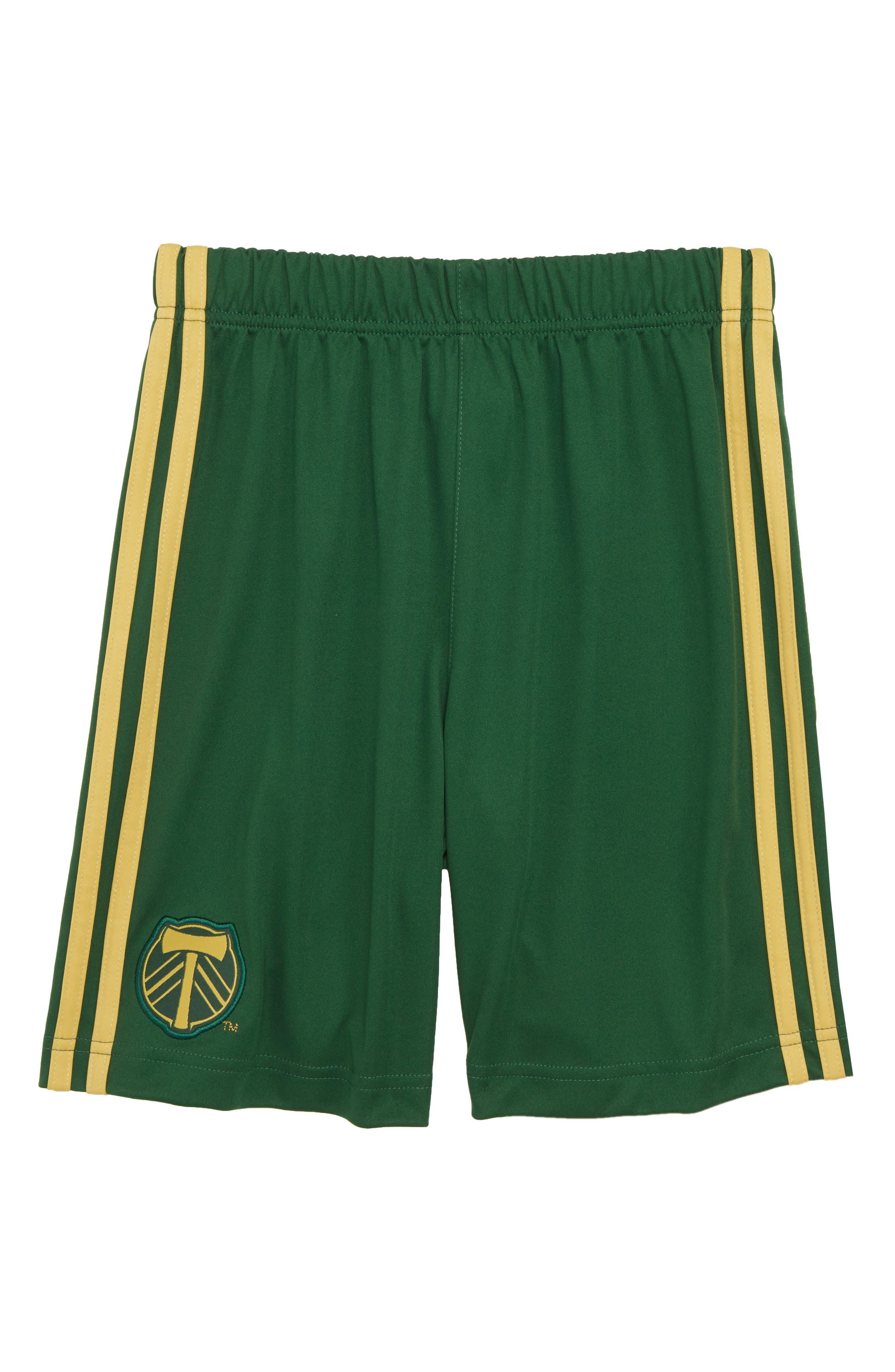 MLS Portland Timbers Shorts,                             Main thumbnail 1, color,                             300