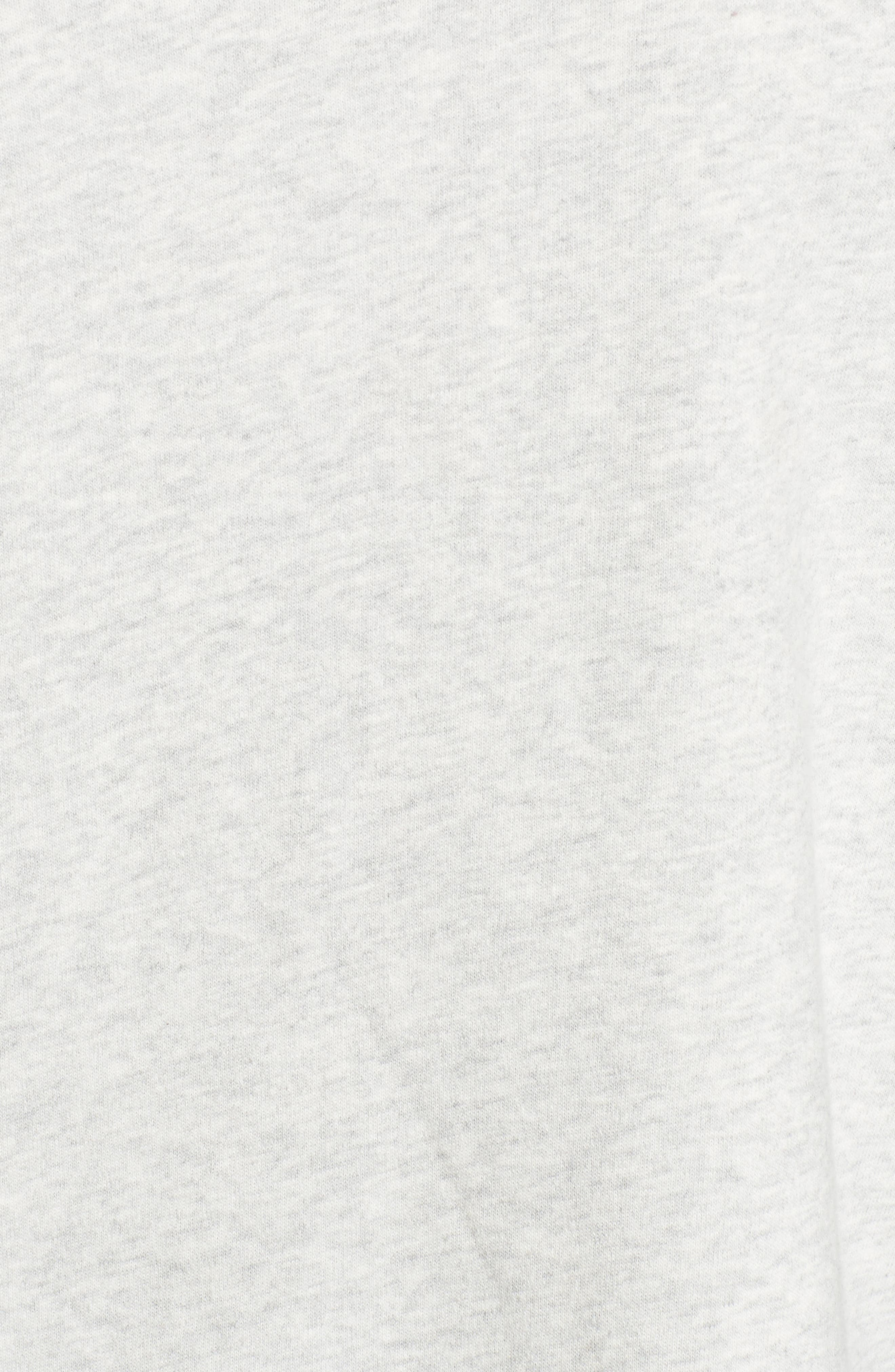 Embellished Bell Sleeve Sweatshirt,                             Alternate thumbnail 5, color,                             050