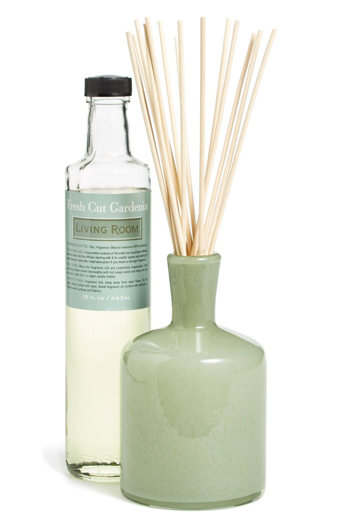 'Fresh Cut Gardenia - Living Room' Fragrance Diffuser,                             Main thumbnail 1, color,                             NO COLOR
