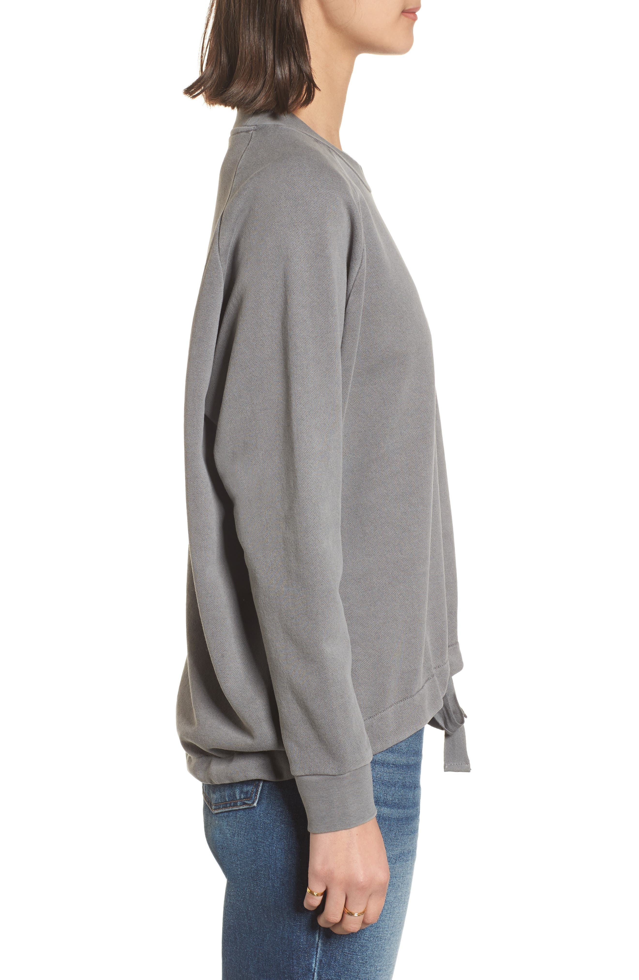 Drawstring Sweatshirt,                             Alternate thumbnail 5, color,