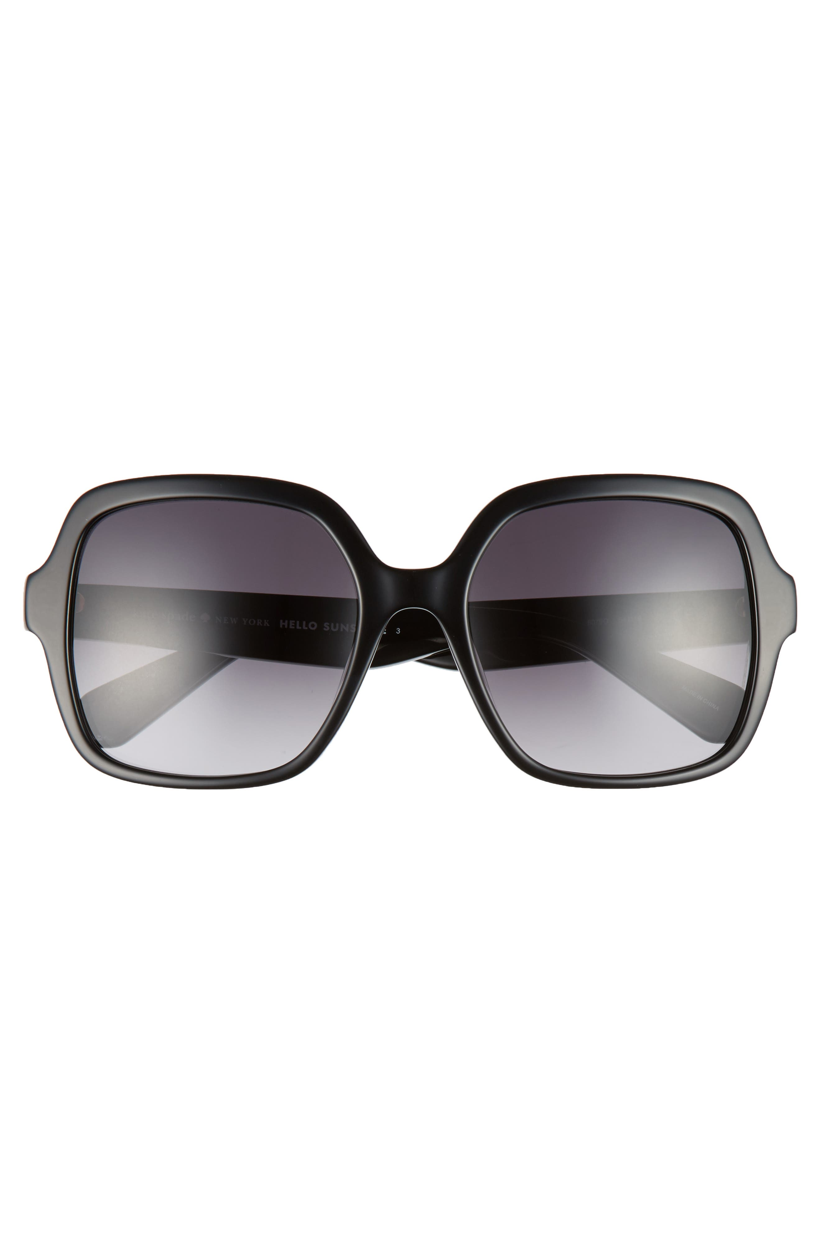 katelee 54mm sunglasses,                             Alternate thumbnail 3, color,                             002