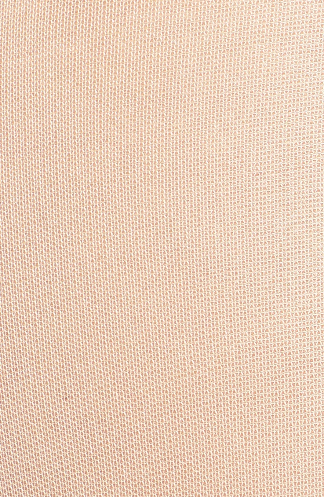 CALVIN KLEIN,                             'Sheer Essentials - Matte Ultra Sheer' Control Top Pantyhose,                             Alternate thumbnail 2, color,                             BUFF