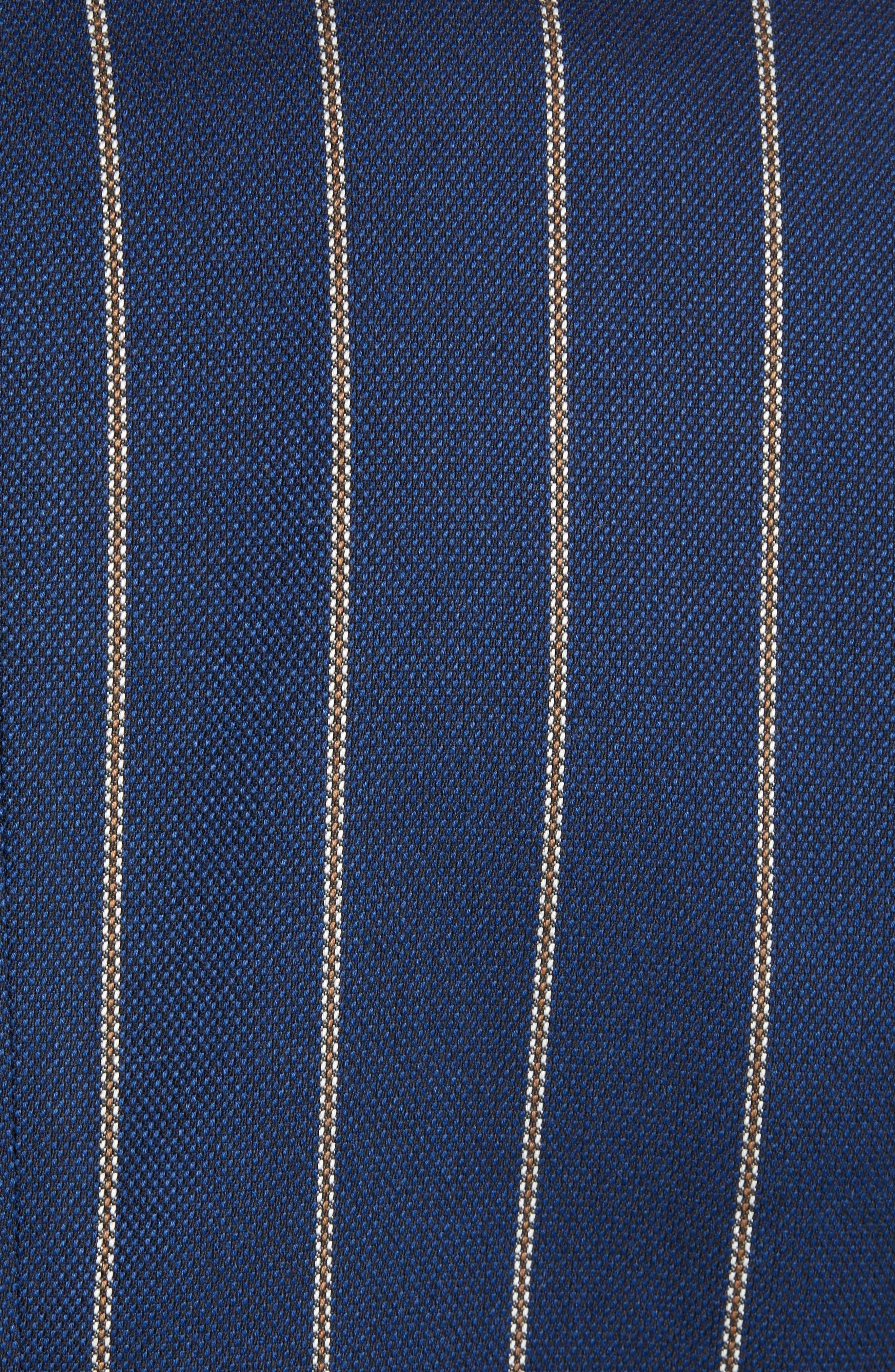 Stripe Blazer,                             Alternate thumbnail 5, color,                             COMBO C