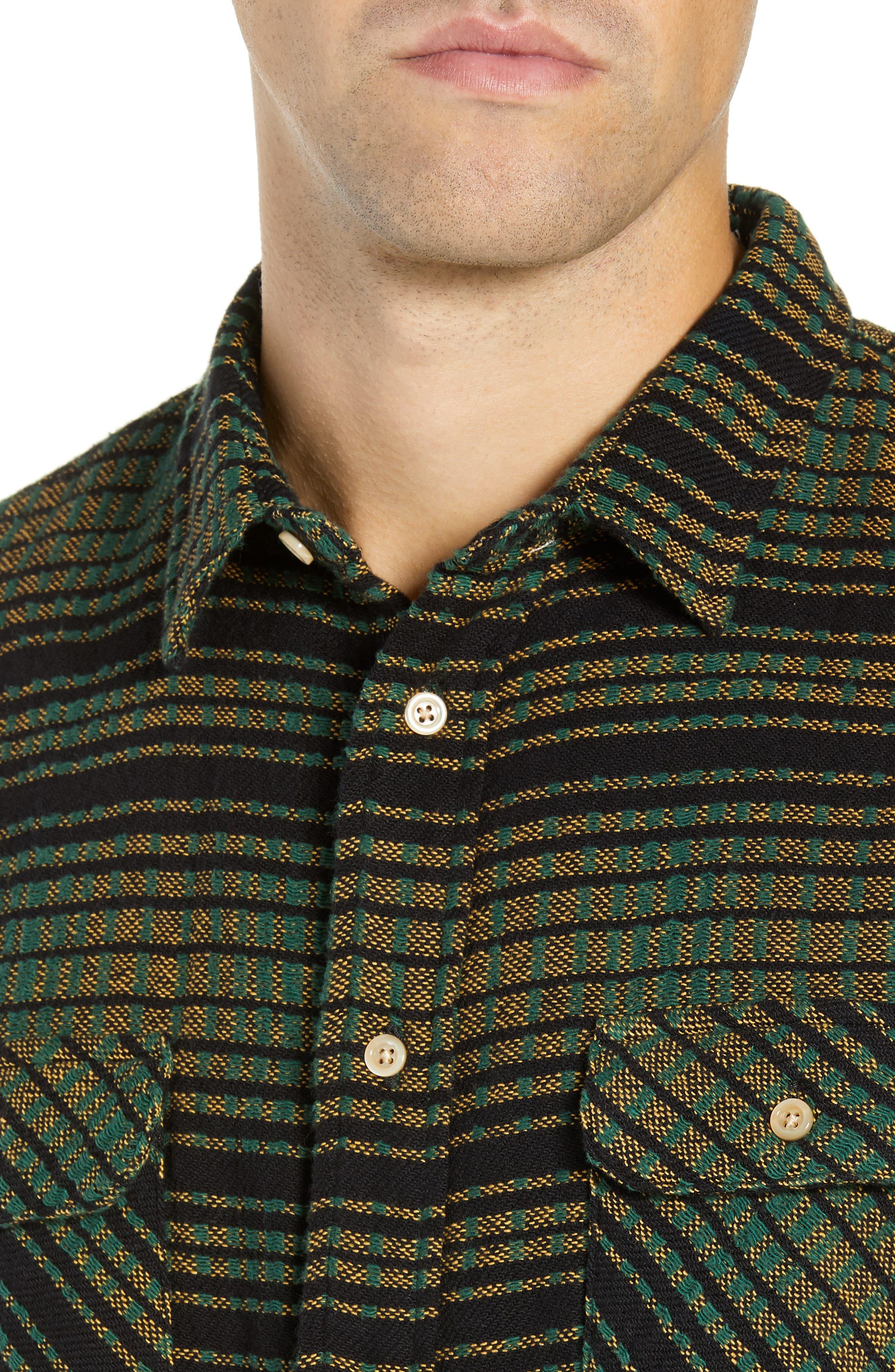 LEVI'S<SUP>®</SUP> VINTAGE CLOTHING,                             Shorthorn Slim Fit Sport Shirt,                             Alternate thumbnail 2, color,                             300