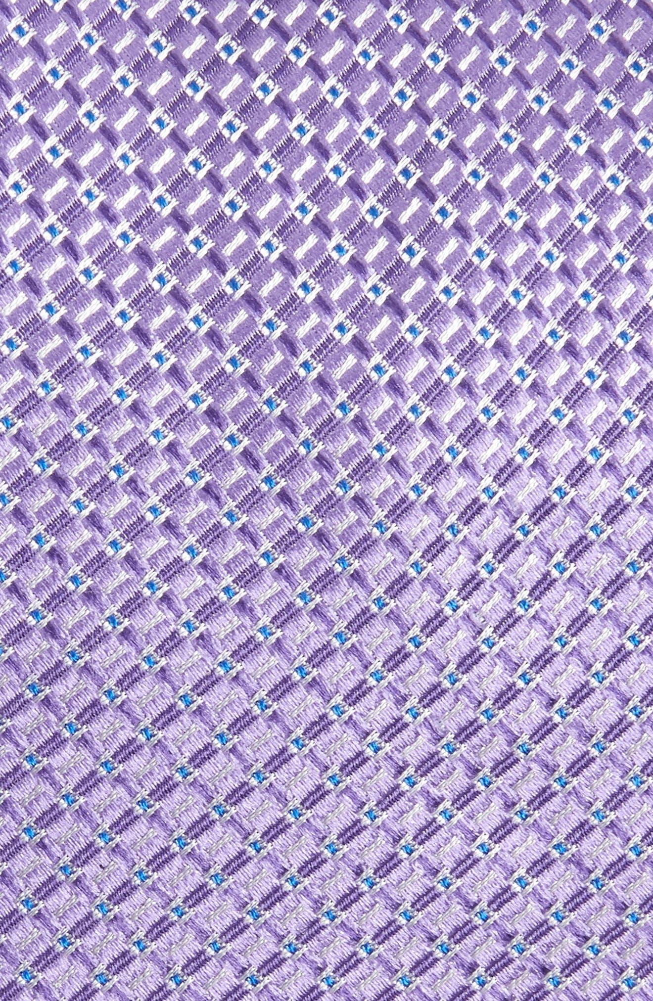 Grid Silk Tie,                             Alternate thumbnail 5, color,