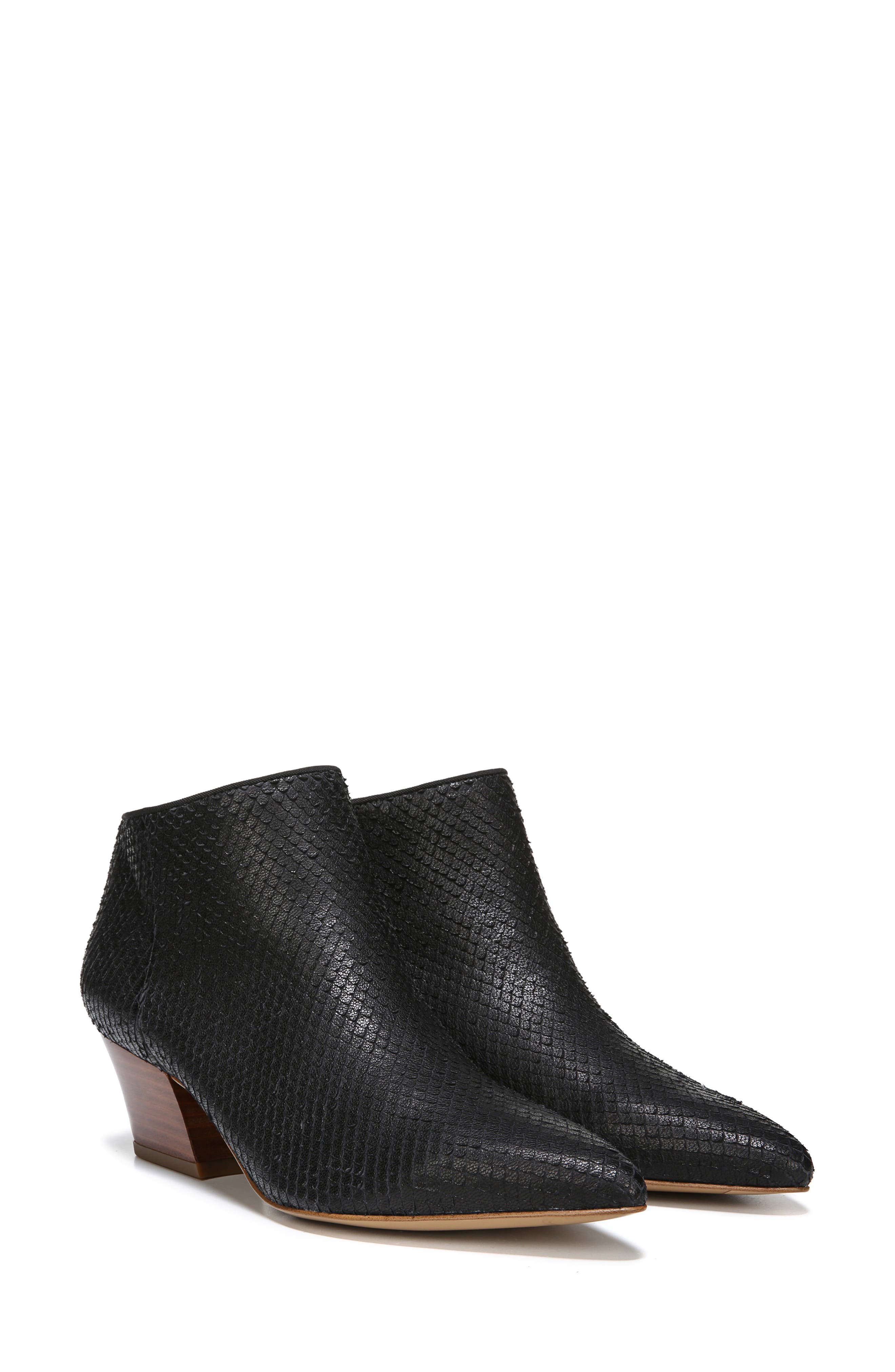 Lowe Bootie,                             Alternate thumbnail 6, color,                             BLACK SNAKE PRINT LEATHER