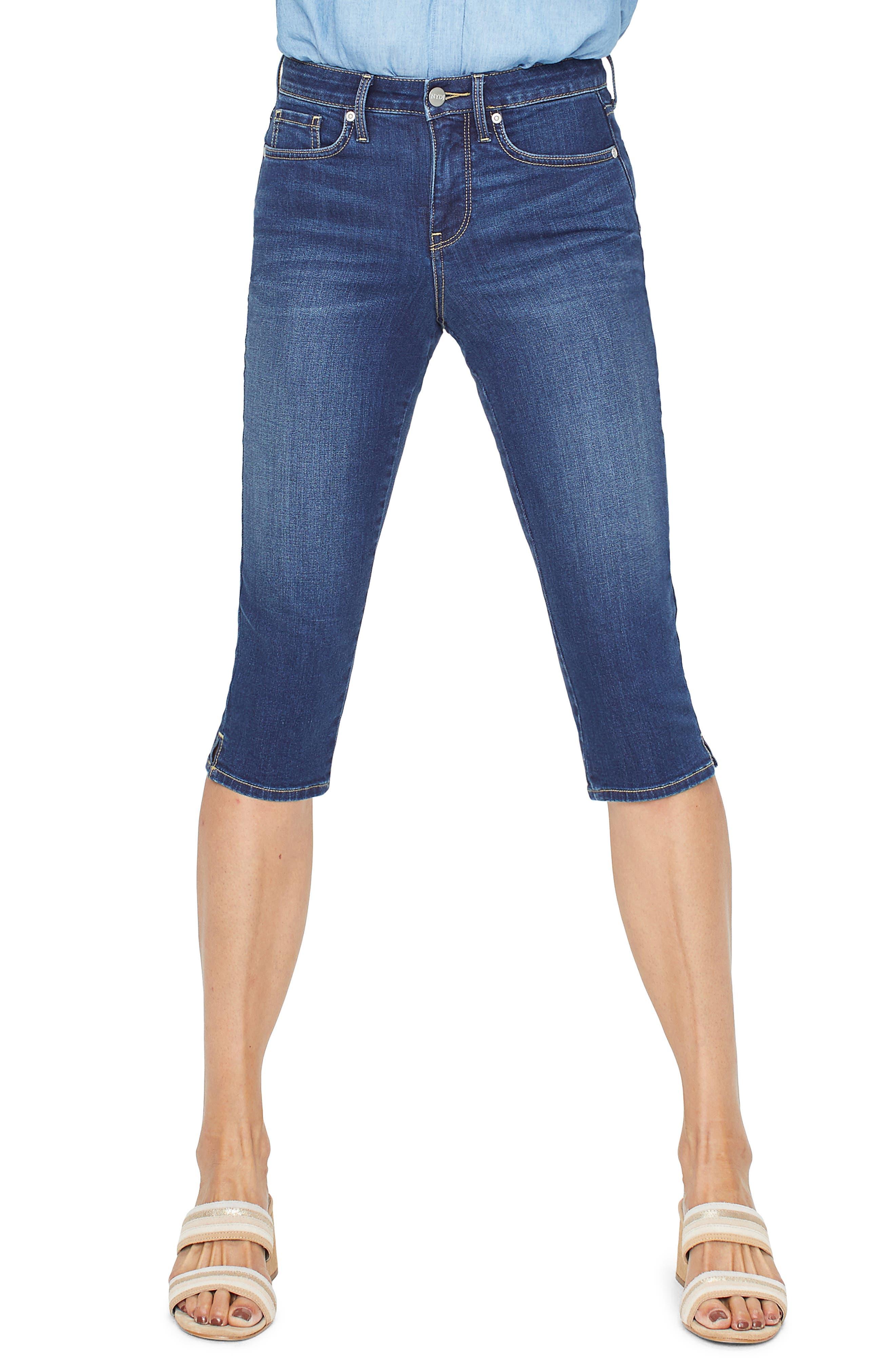 Nydj Skinny Capri Jeans, Blue