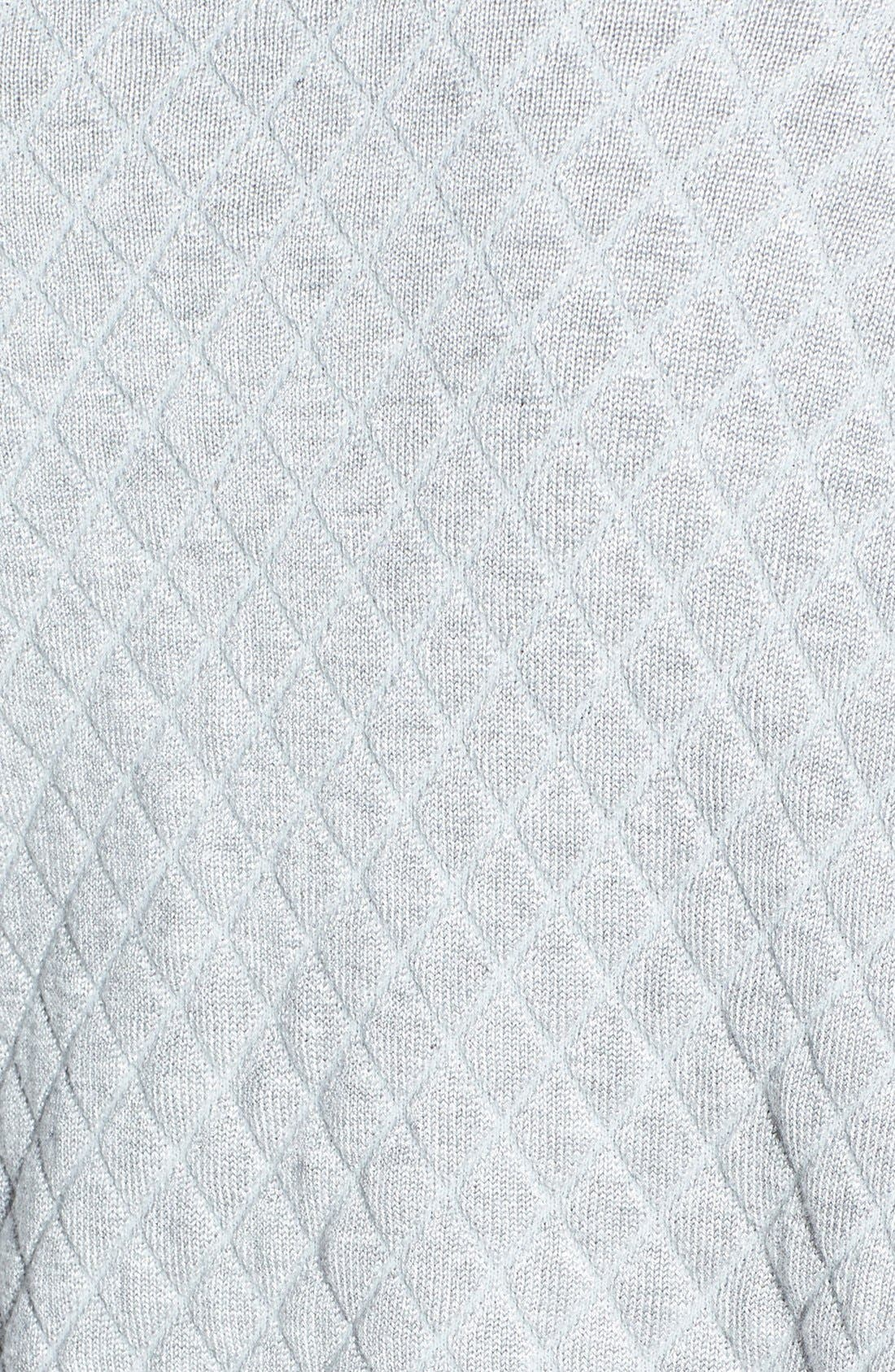Quilted Sweatshirt,                             Alternate thumbnail 3, color,                             050
