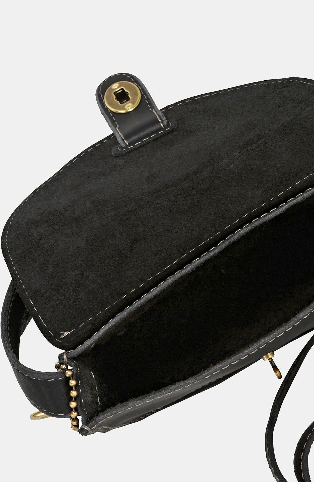 'Austin - Small' Crossbody Bag,                             Alternate thumbnail 4, color,                             001