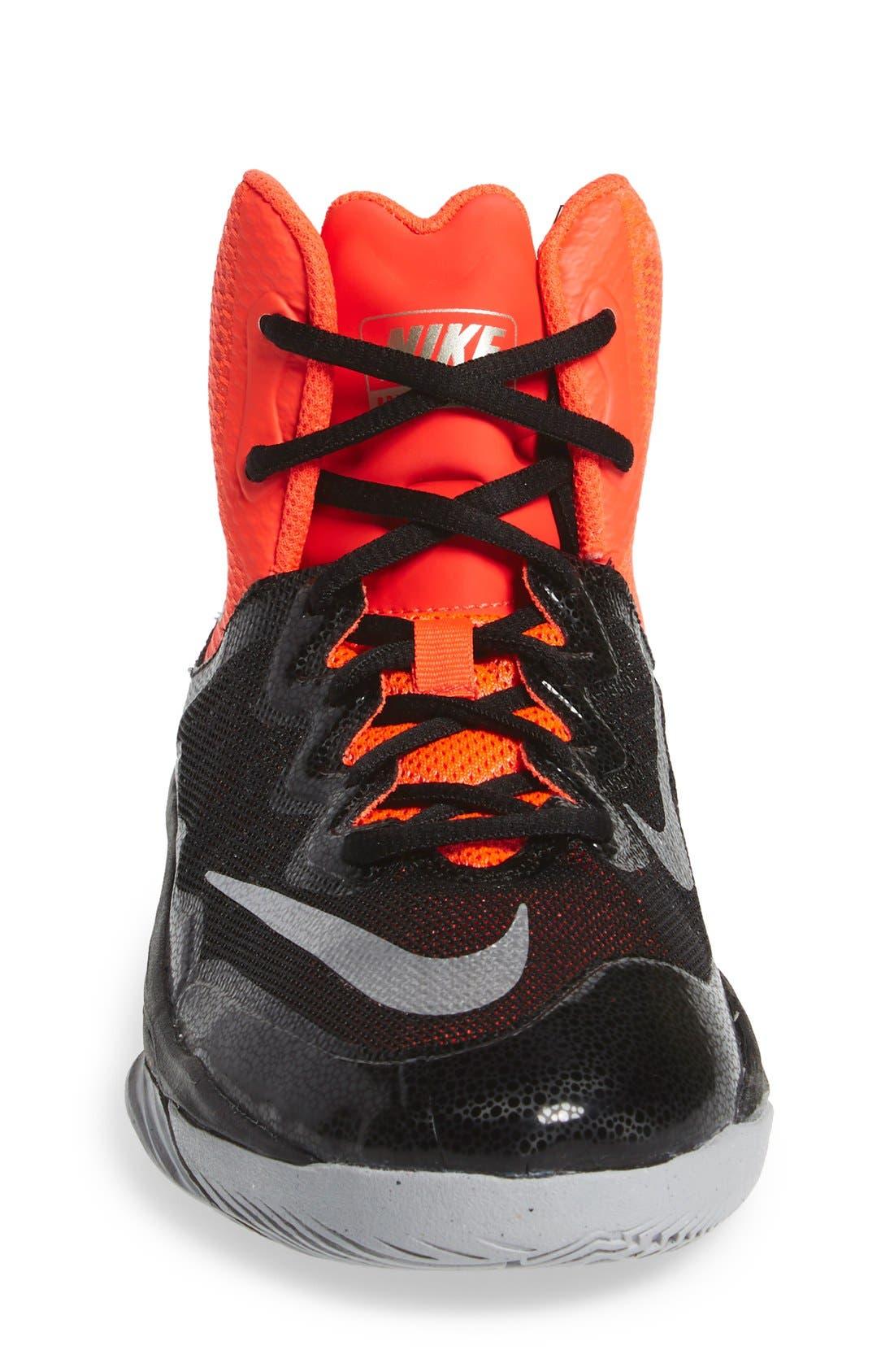 'Prime Hype DF II' Basketball Shoe,                             Alternate thumbnail 4, color,                             006