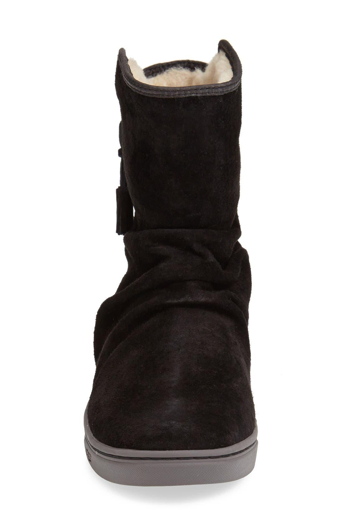 Australia 'Becky' Water Resistant Suede Boot,                             Alternate thumbnail 4, color,                             001