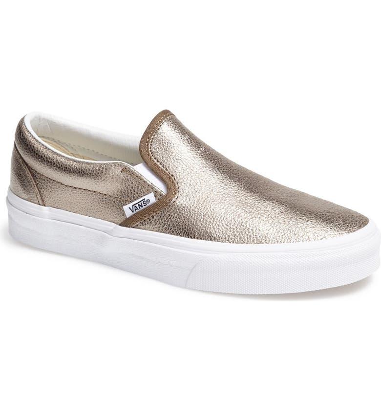 Vans Metallic Slip-On Sneaker (Women)  62bf18def