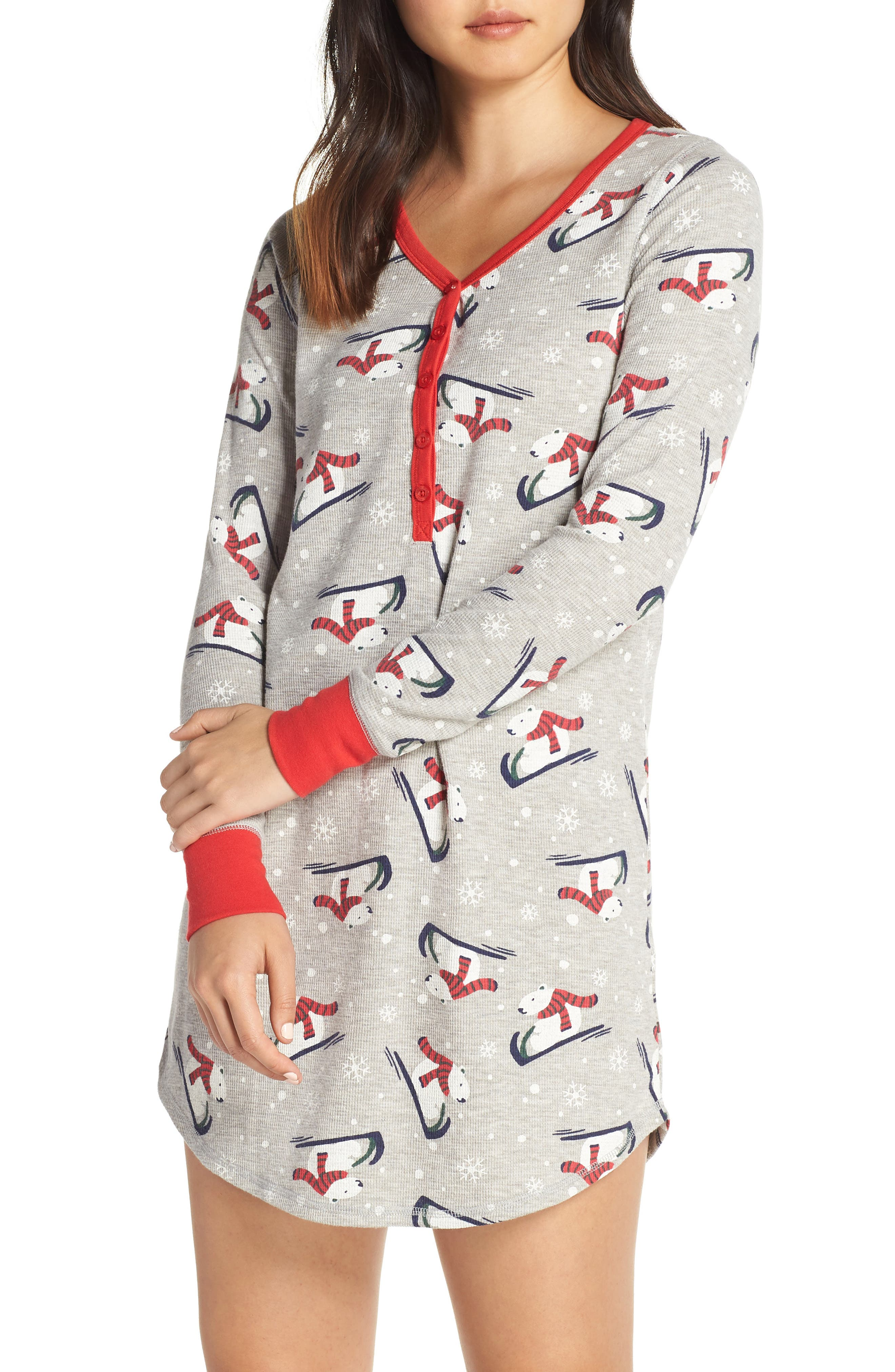 Lingerie Sleepyhead Thermal Nightshirt by Nordstrom