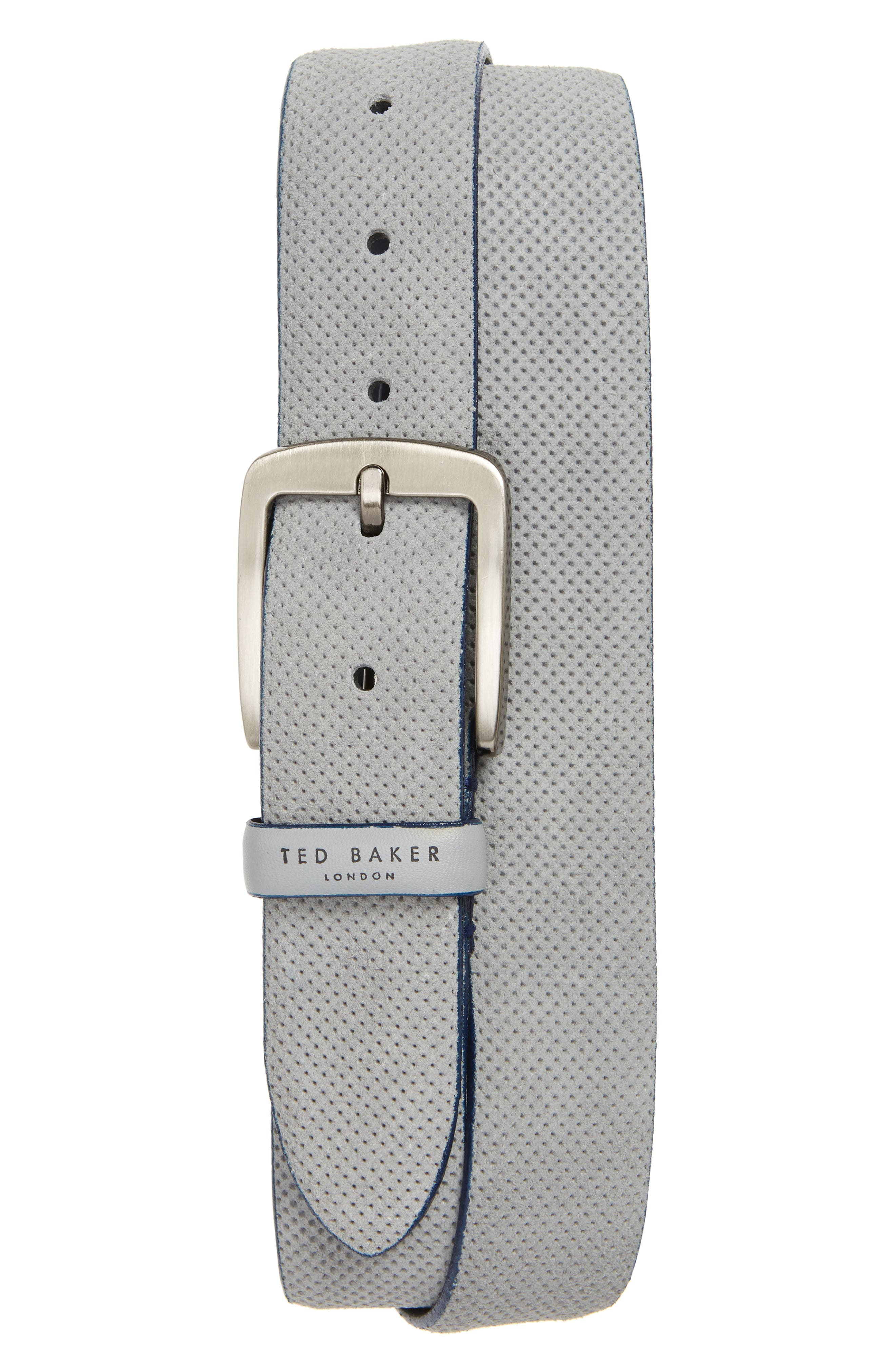 Ted Baker Trinnie Suede Belt,                             Main thumbnail 1, color,                             030