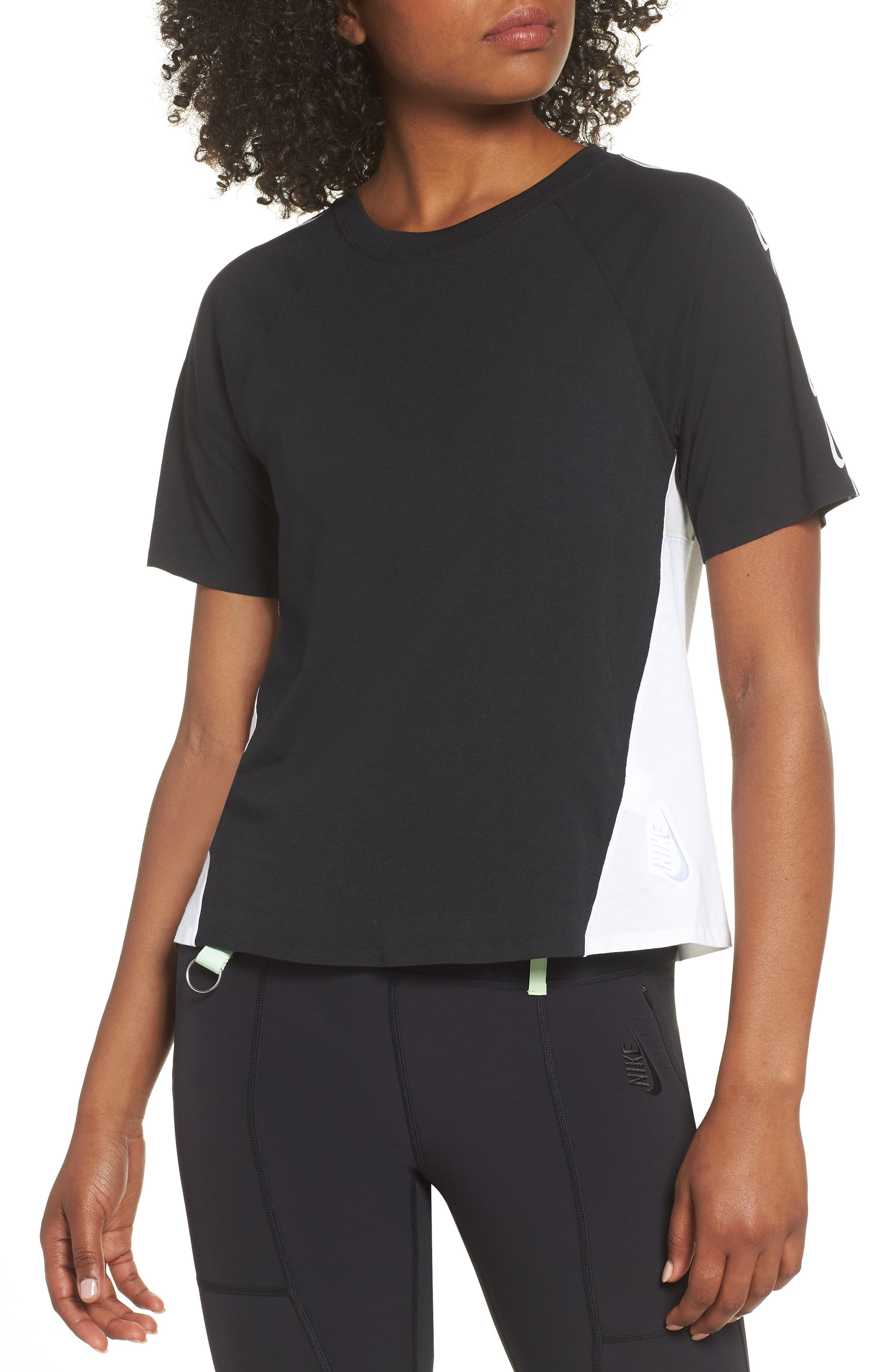 NRG Women's Dri-FIT Short Sleeve Top,                             Main thumbnail 1, color,                             010