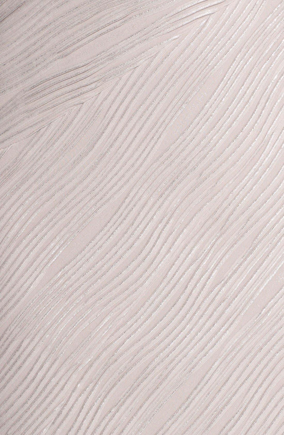 Embellished Sleeve Knit Sheath Dress,                             Alternate thumbnail 6, color,