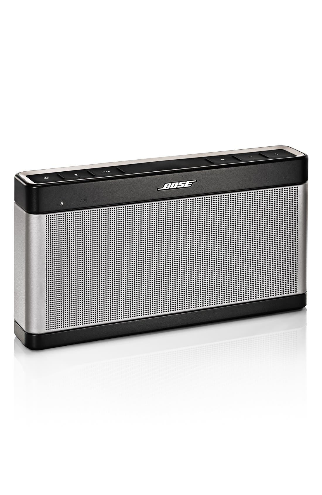 SoundLink<sup>®</sup> Bluetooth<sup>®</sup> Mobile Speaker III,                         Main,                         color, 020
