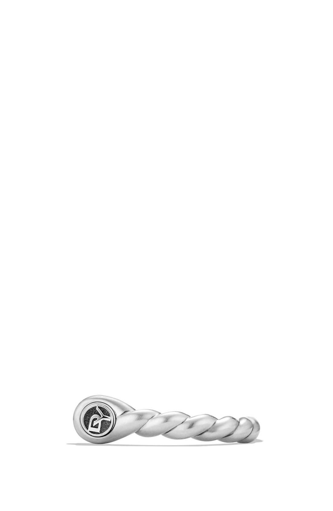 'Maritime' Shackle Ring,                             Alternate thumbnail 4, color,                             SILVER