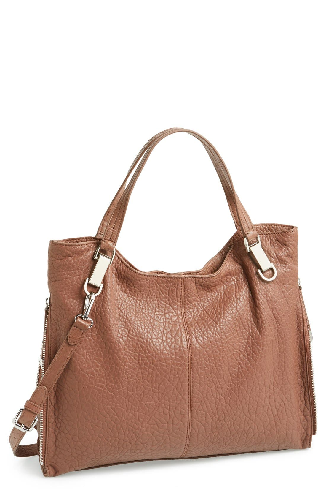'Riley' Leather Tote,                             Main thumbnail 12, color,