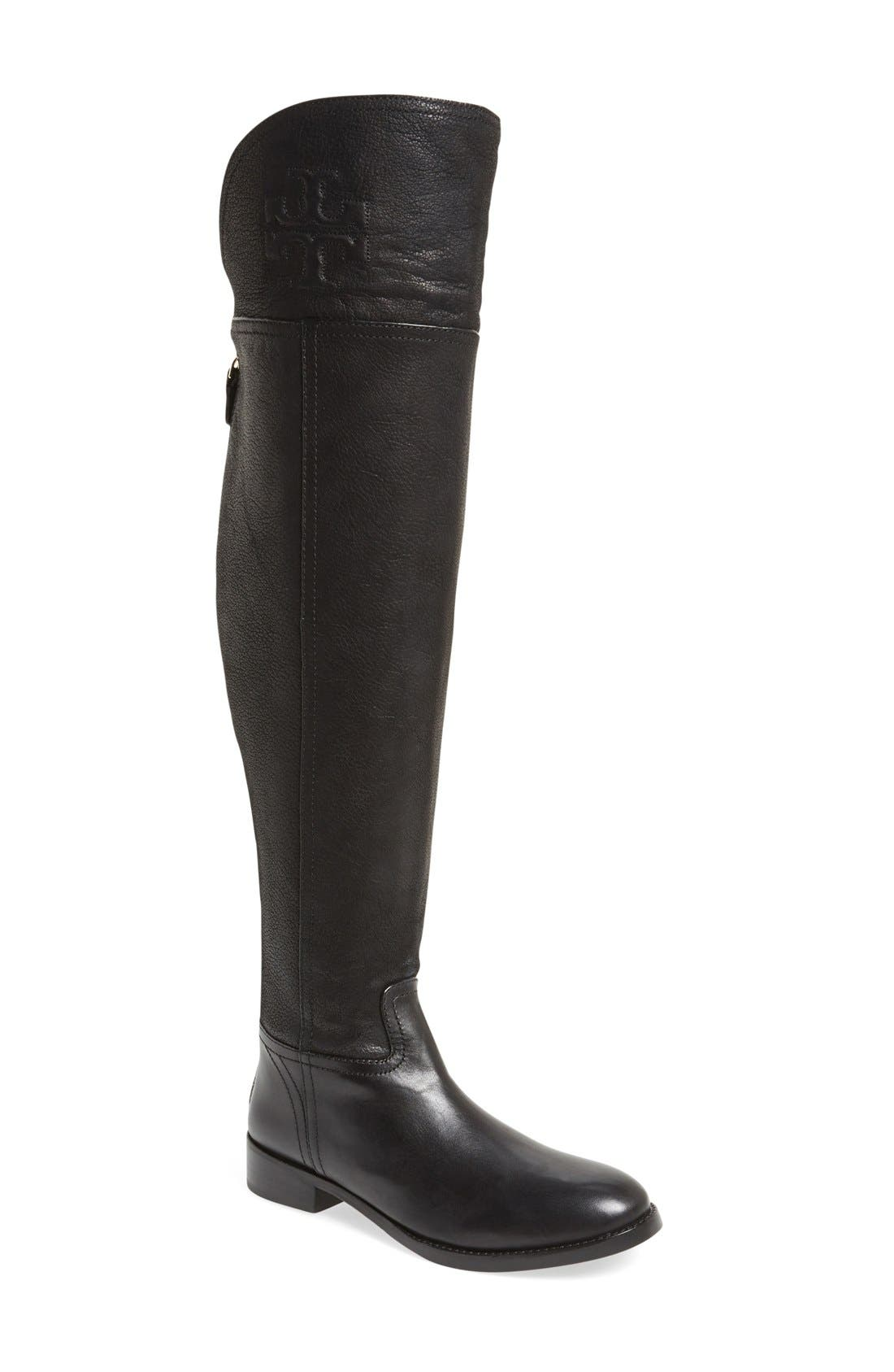 'Simone' Over the Knee Boot, Main, color, 001