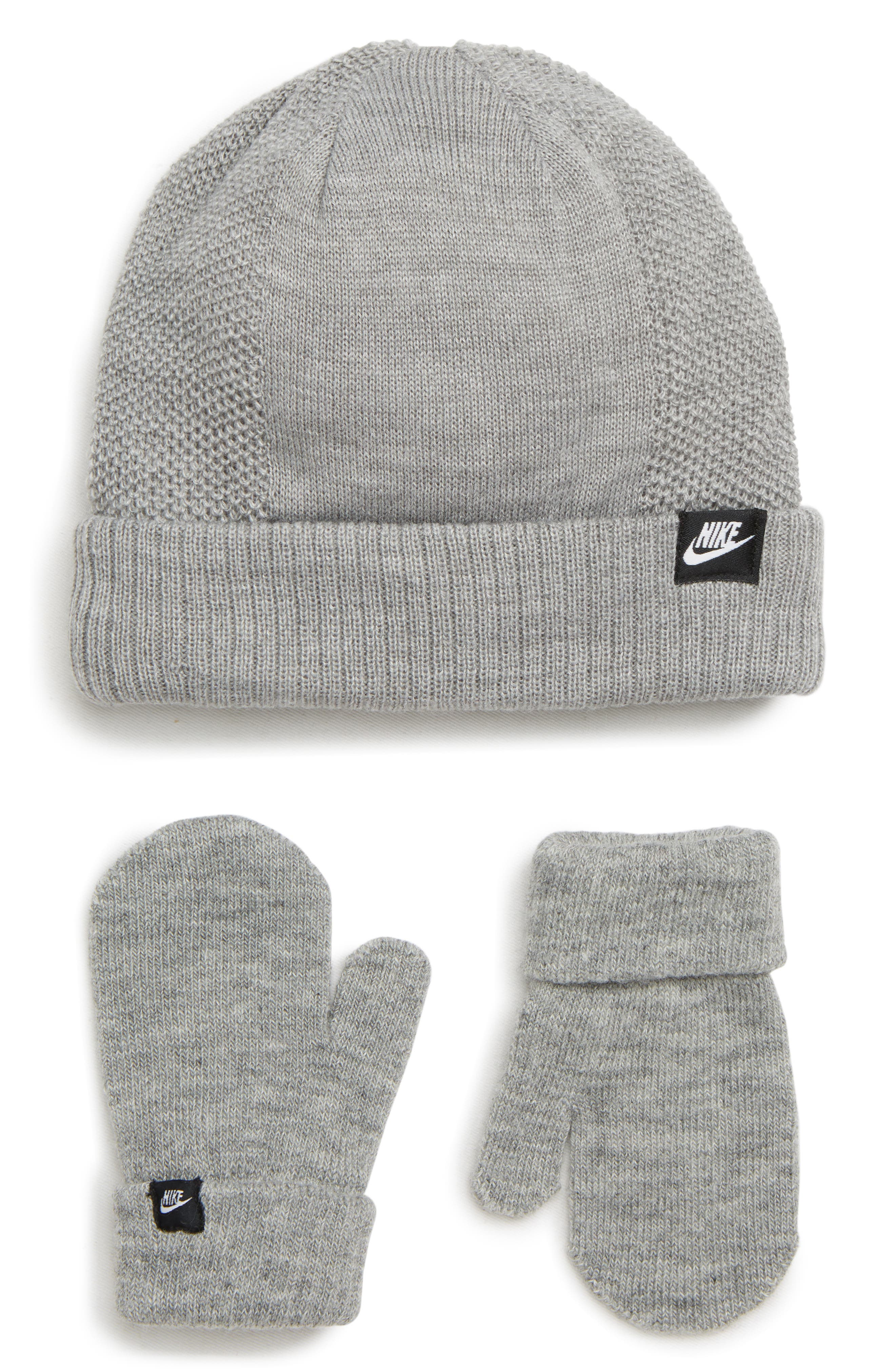 Grow with Me Beanie & Mittens Set,                         Main,                         color, 020